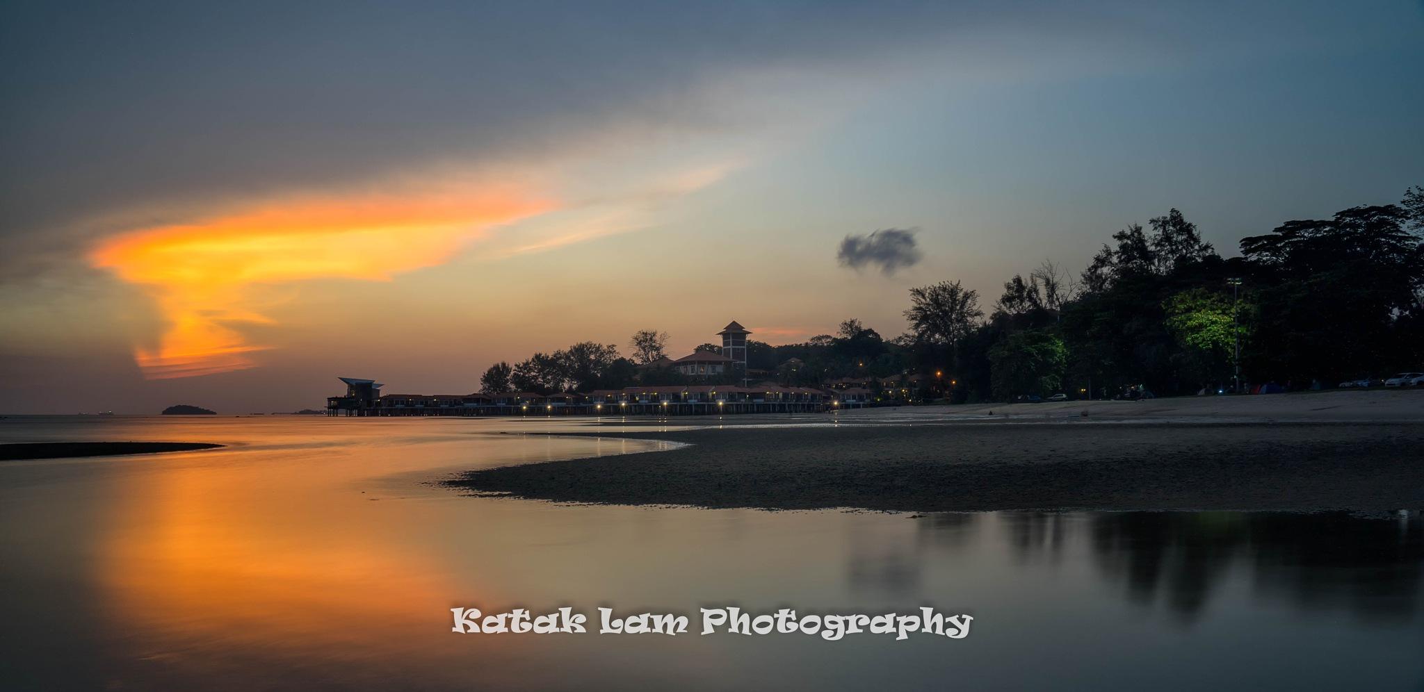 Sunset by stevenlam.katak