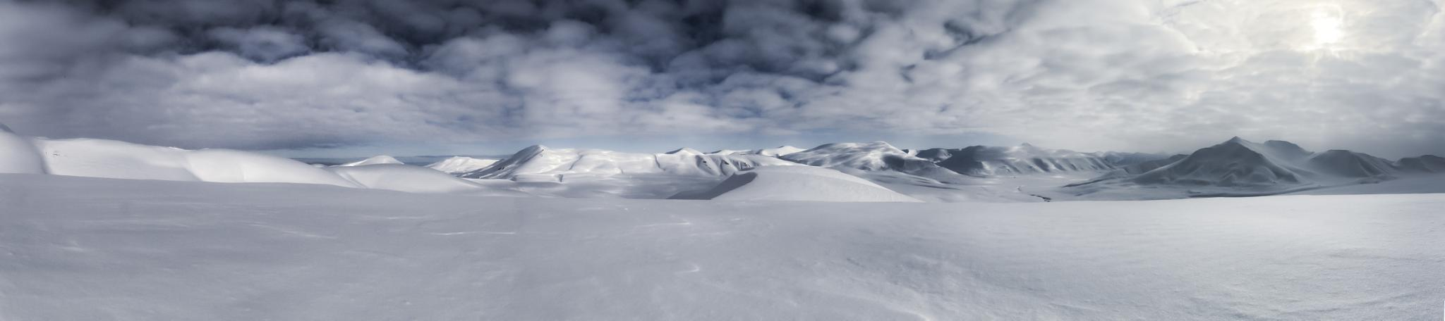 Photo in Landscape #svalbard #desert #snow #ice #frozen #mountain