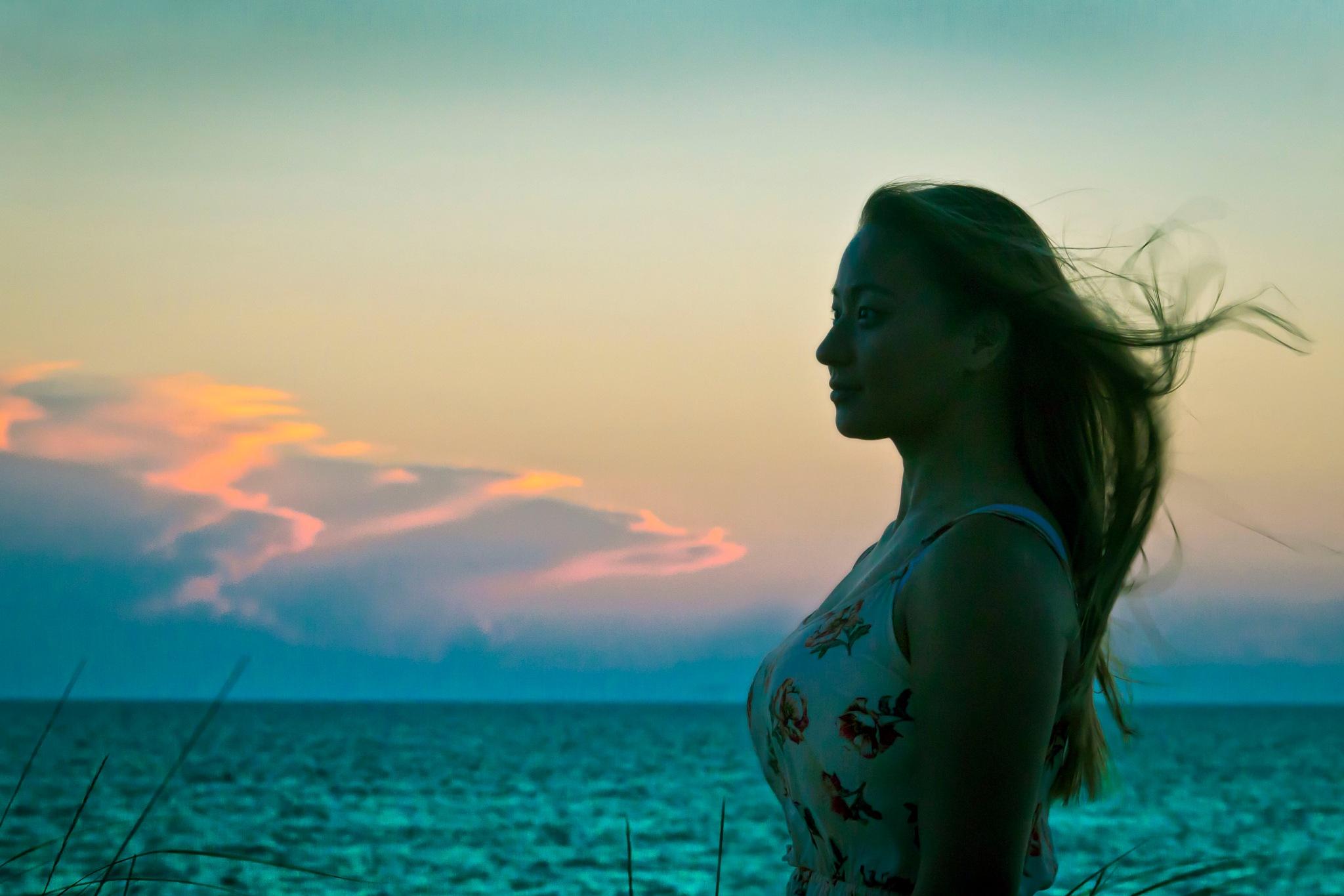 Jade, by Lake Michigan by dave.skorupski