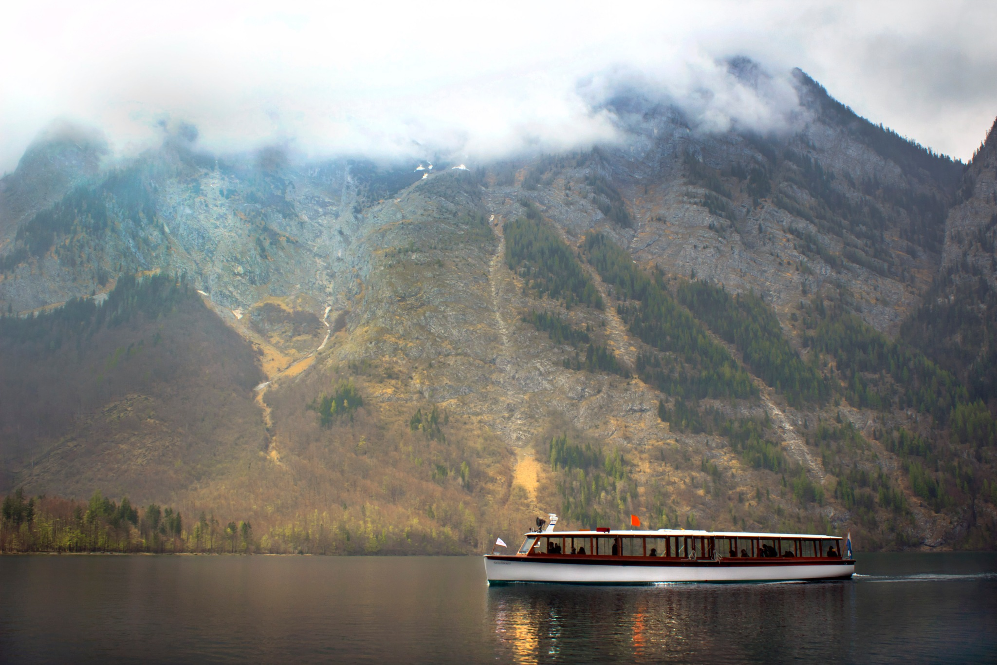 Boating on the Konigssee by dave.skorupski