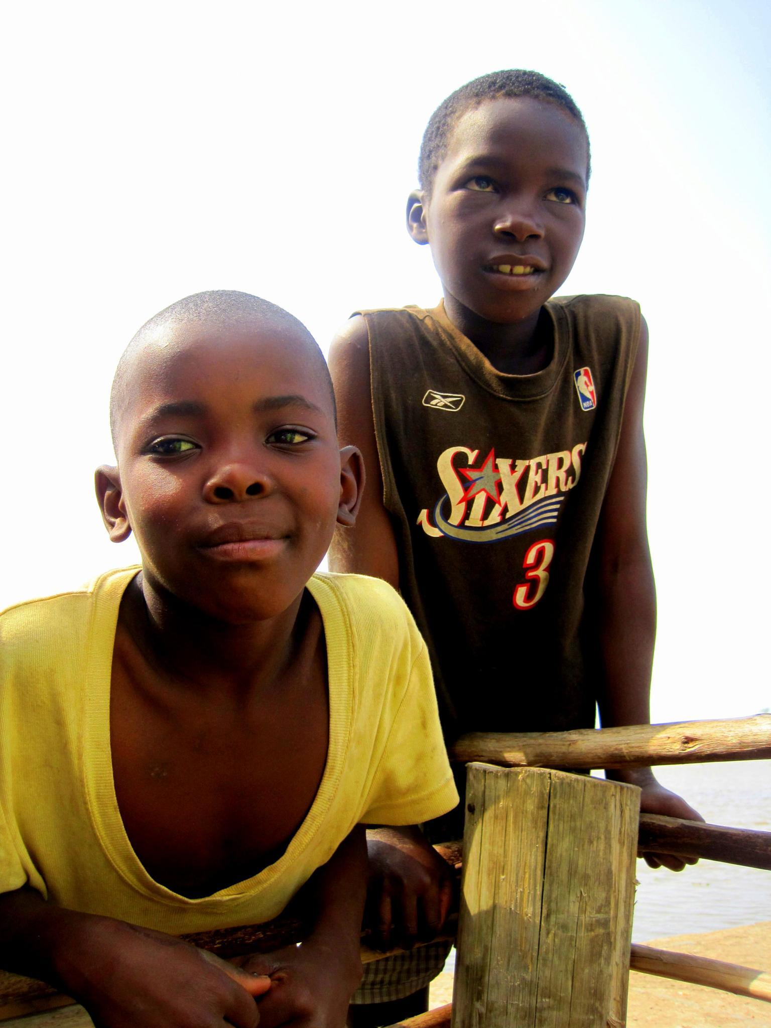 River boys in Mozambique by Carlos.Alberto.Andrade.Cruz