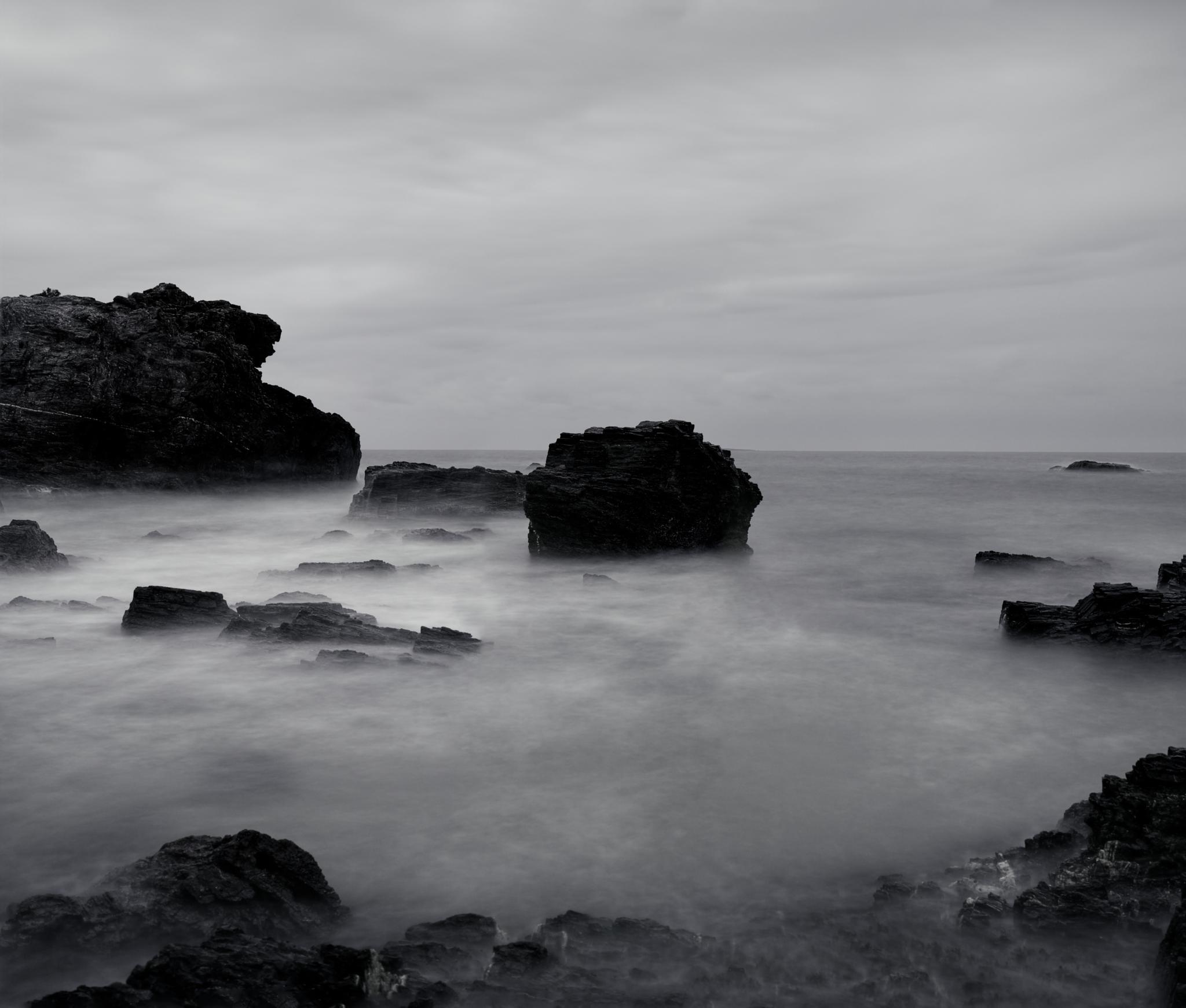 Mystery Bay BW by adrian.bradley.184