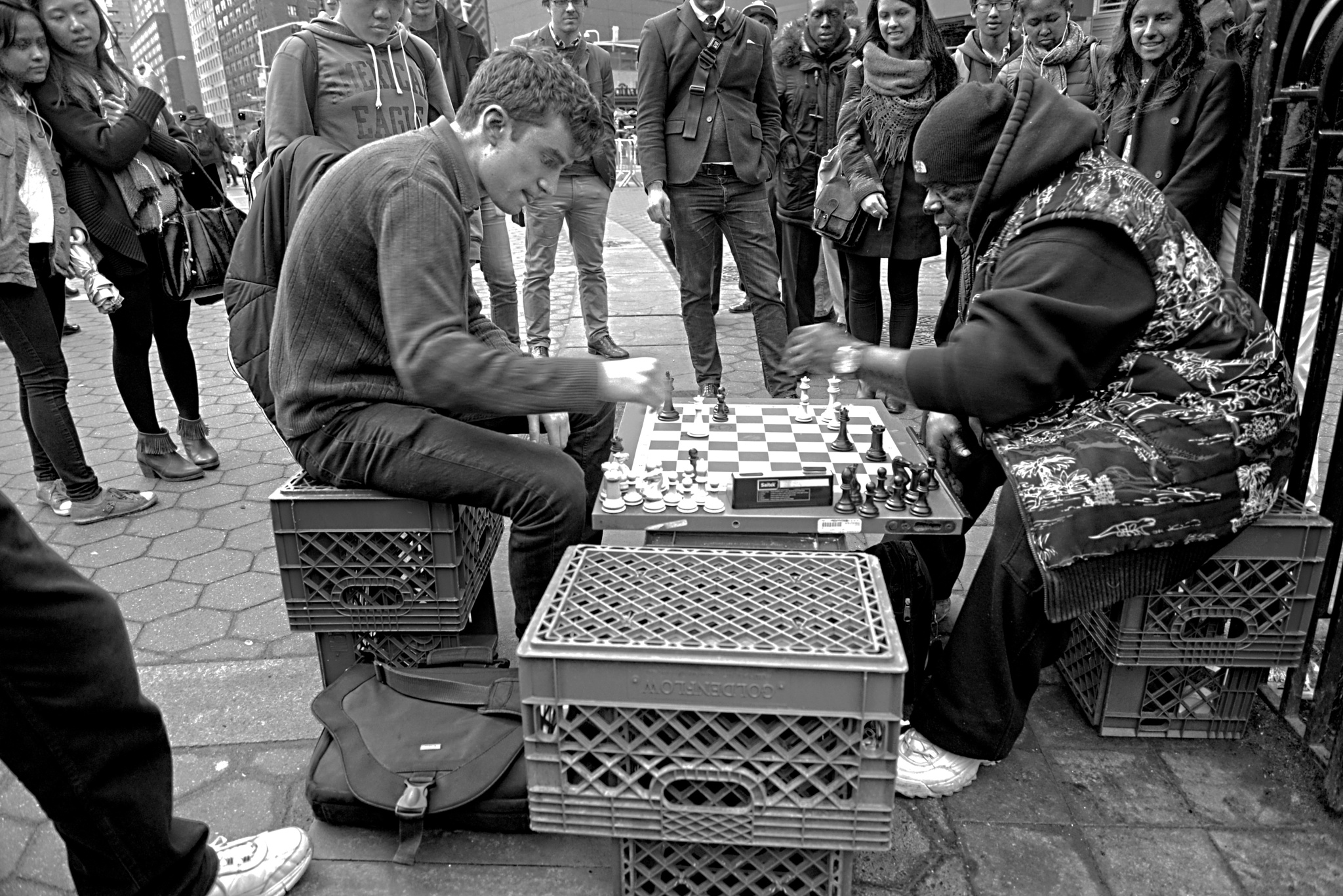 Union Square Chess by JDeGraff