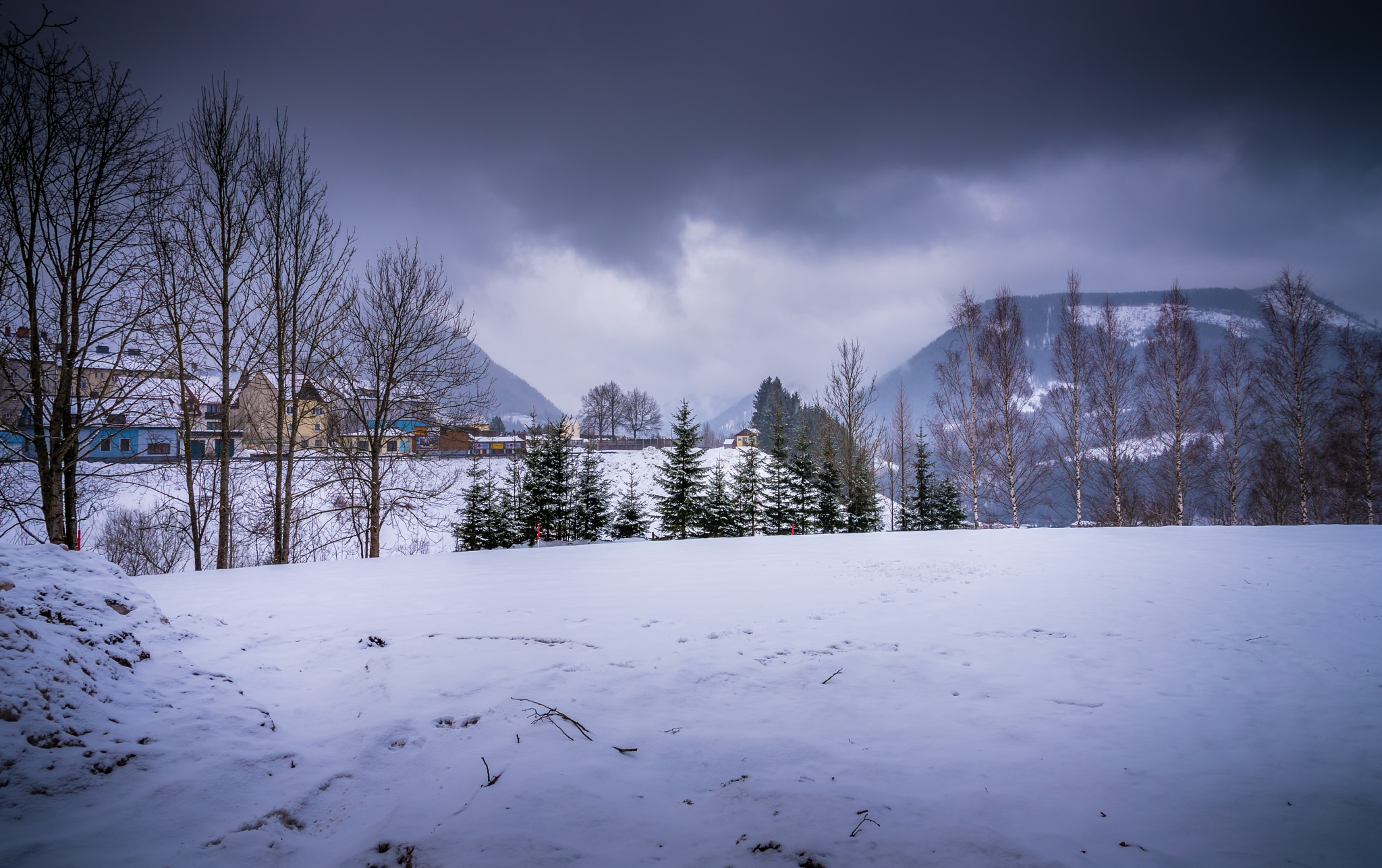 Winter in Mariazell by peter.cseke