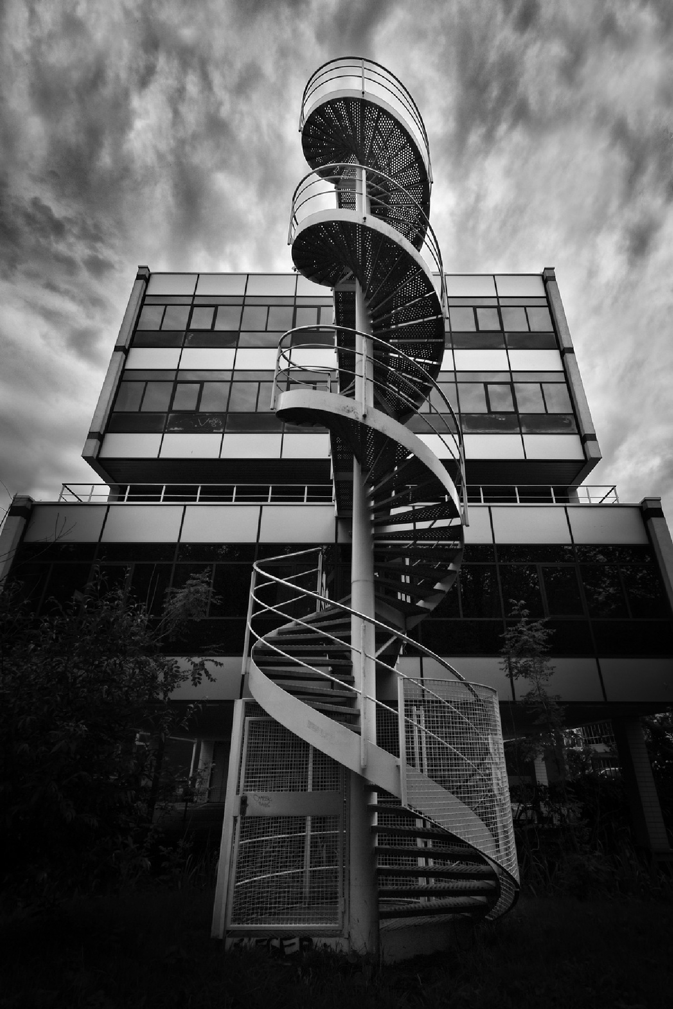 Spiral Staircase II by Pieter de Knijff Photography