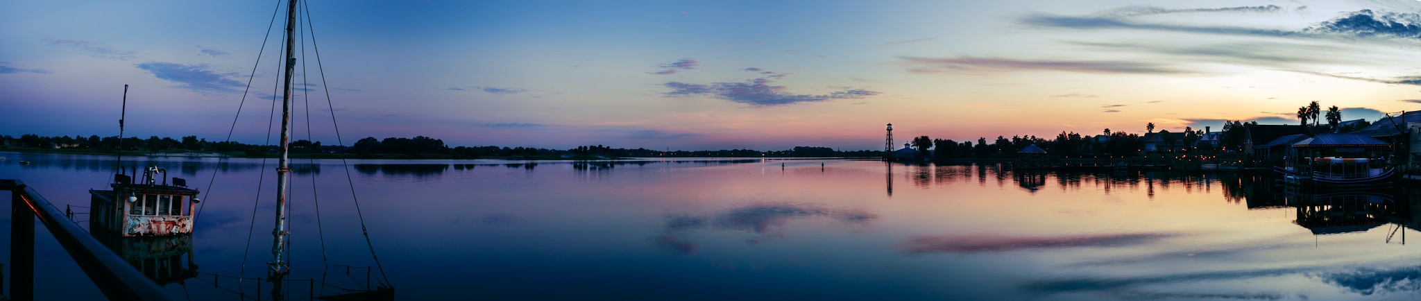 Sunrise panorama by Bryan L. Williams