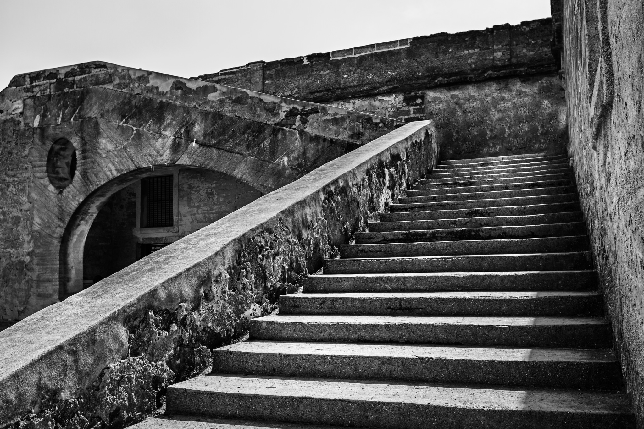 Old stairs by Bryan L. Williams