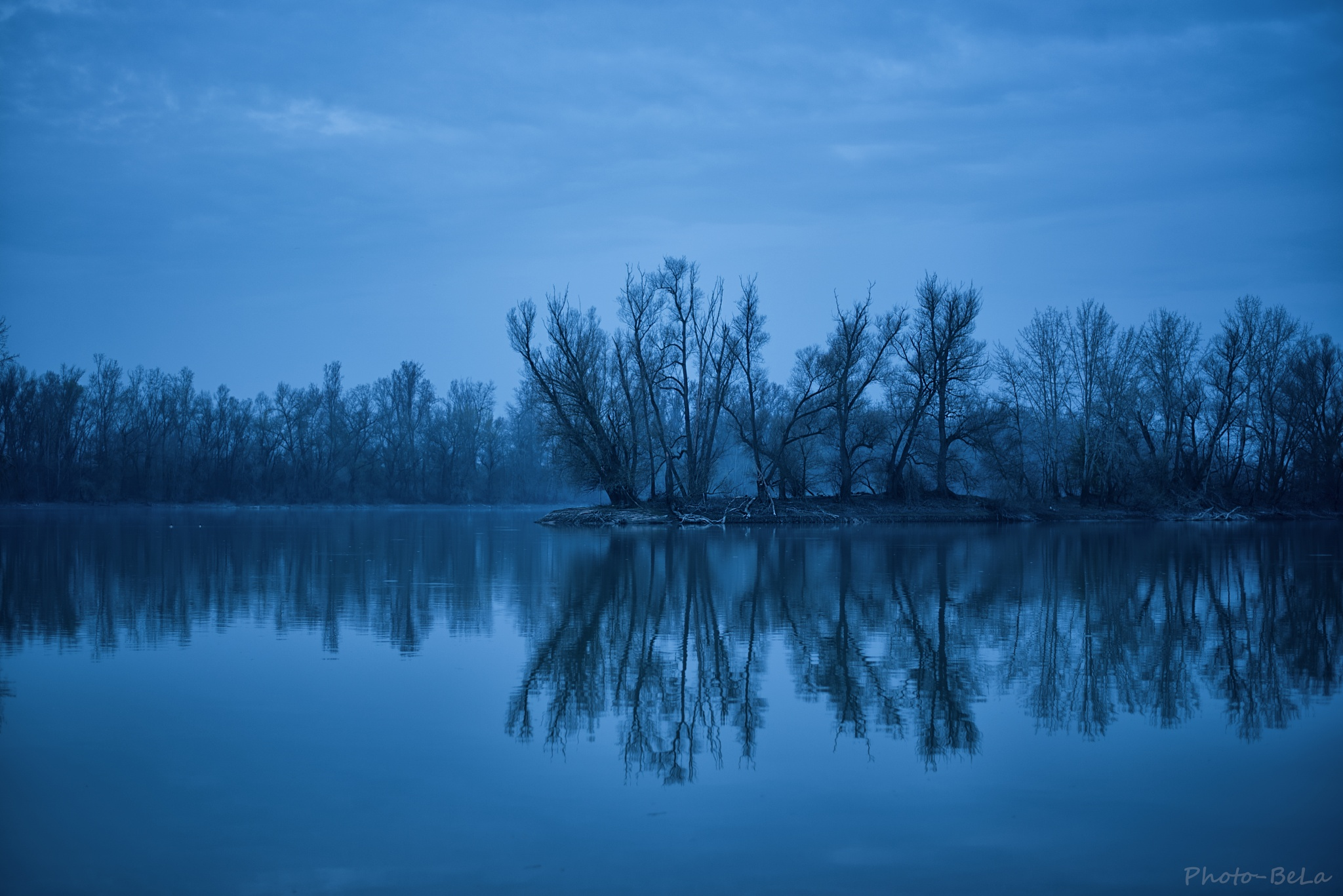 Blue hour by Bernie Lamberz photography