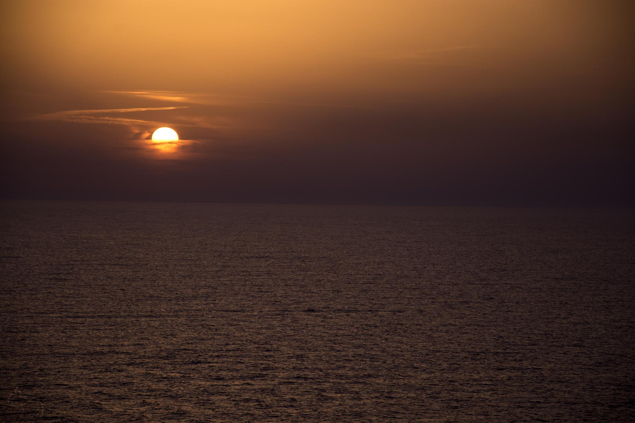 sunset by Bernie Lamberz photography