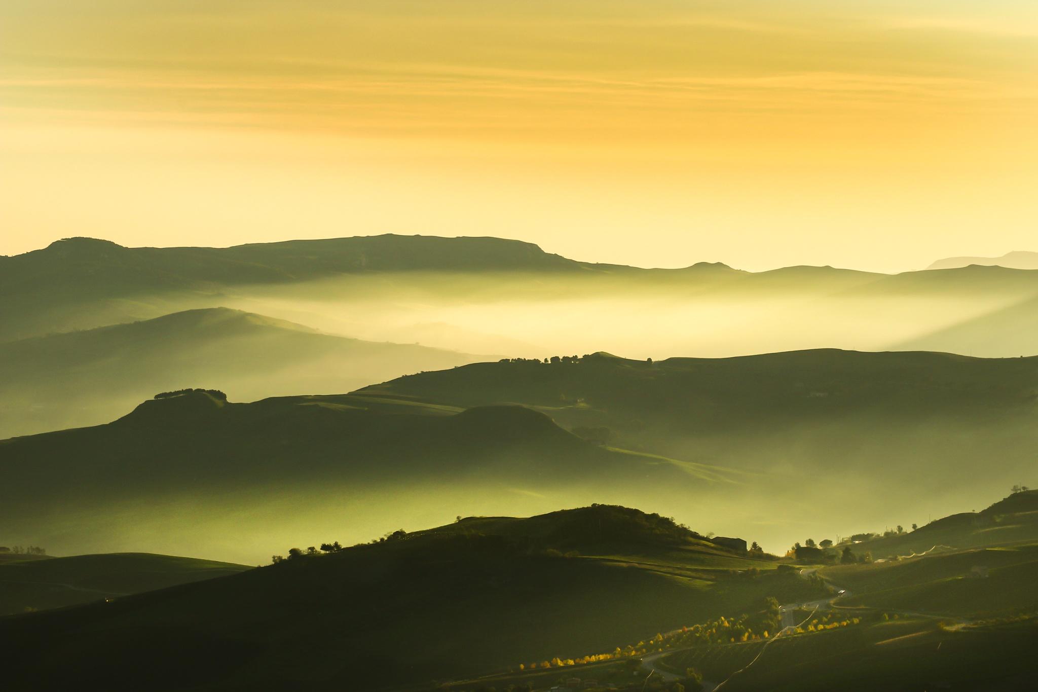 al tramonto by Tommaso
