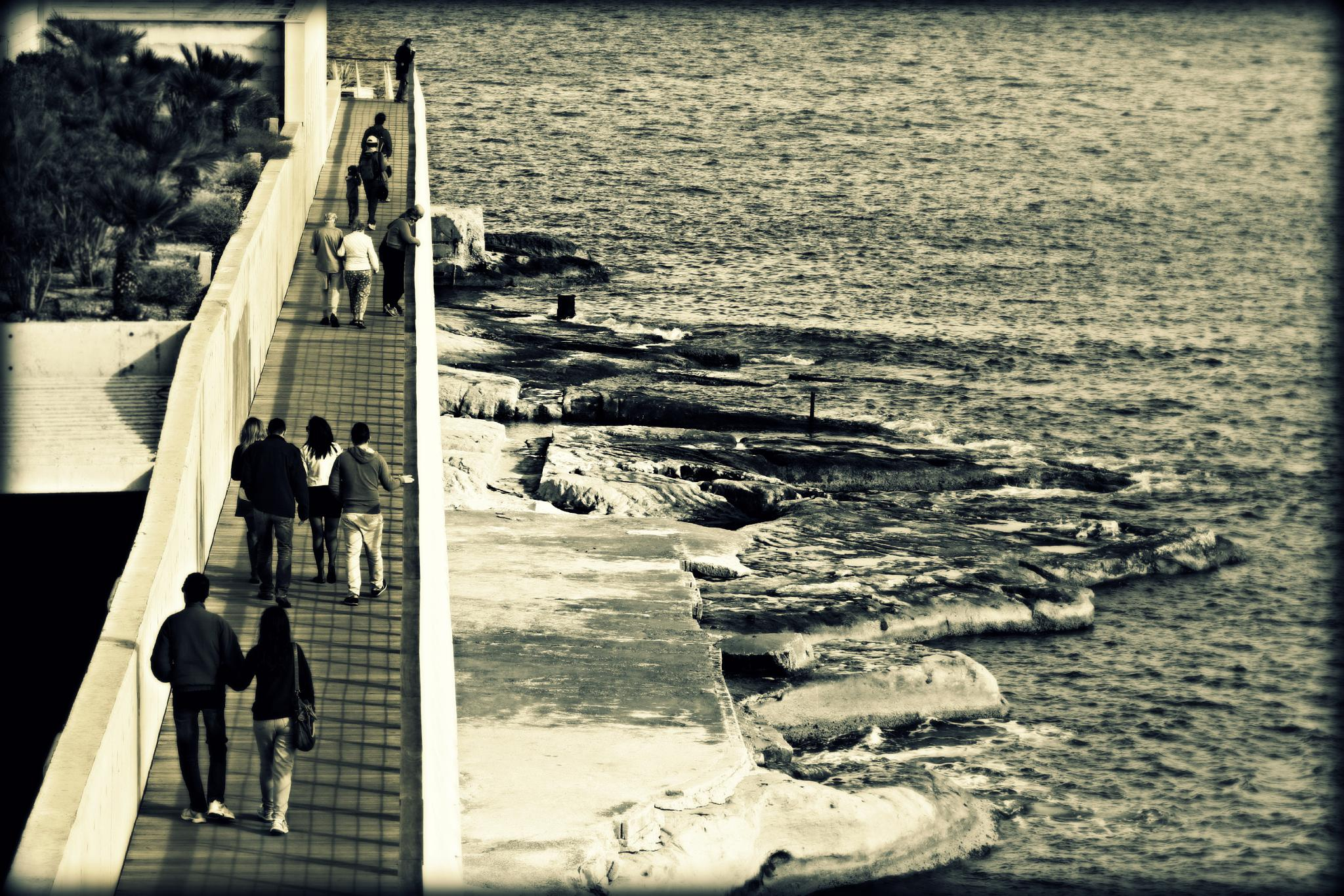 @ a sunny day in sliema by Earl