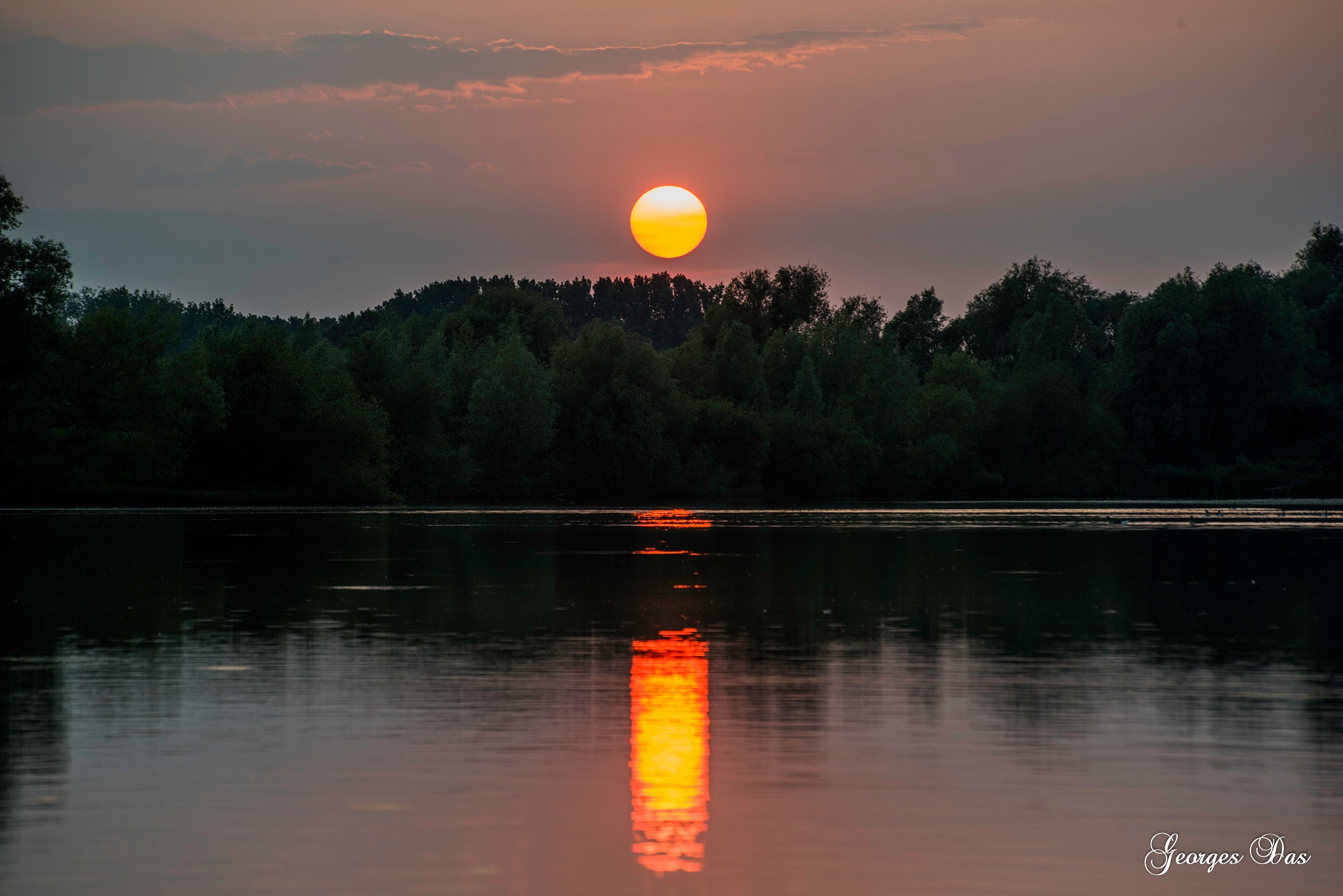 sunset by Georges Das