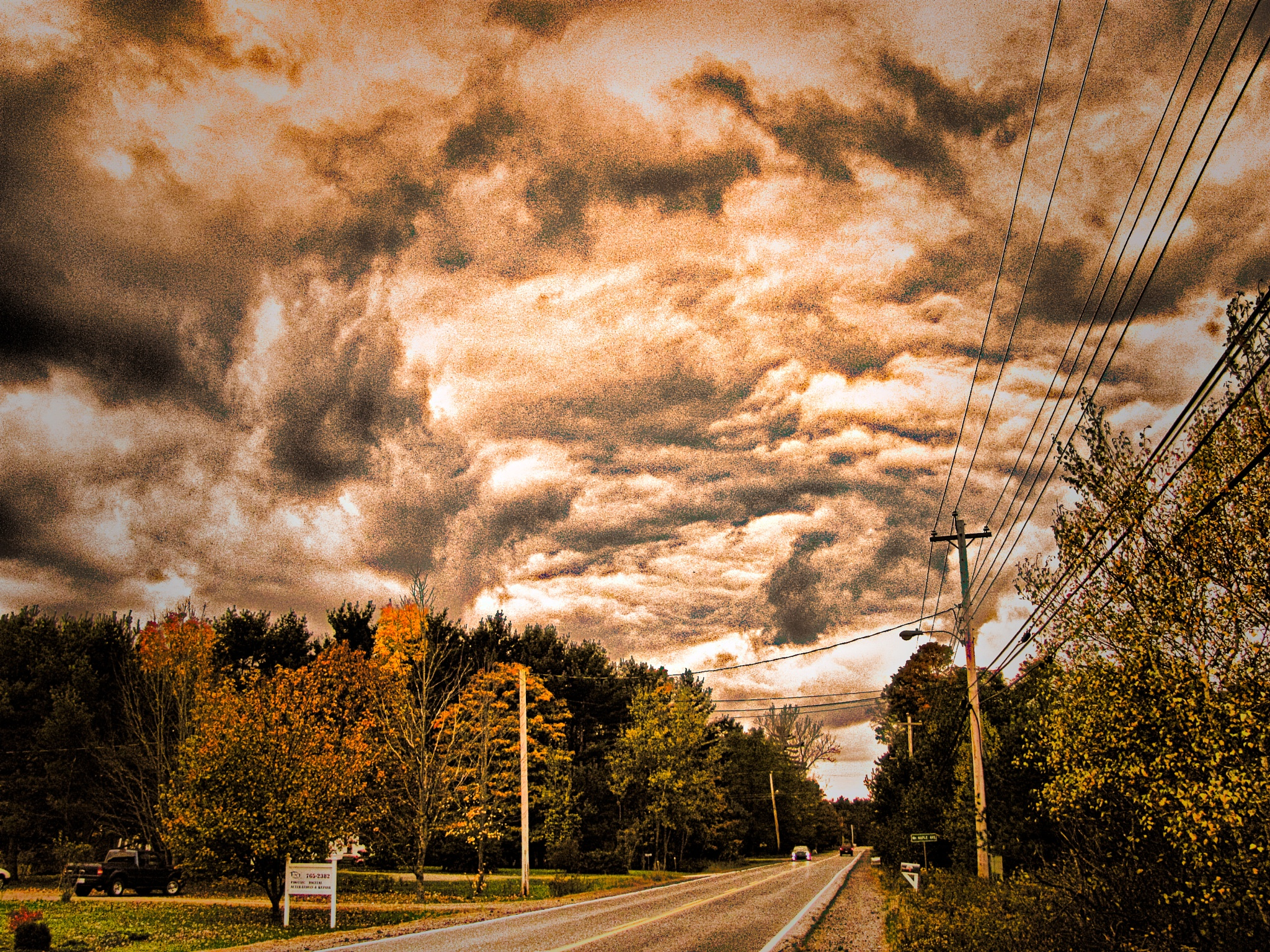 Sky's a Brewin  by Brian Hannah