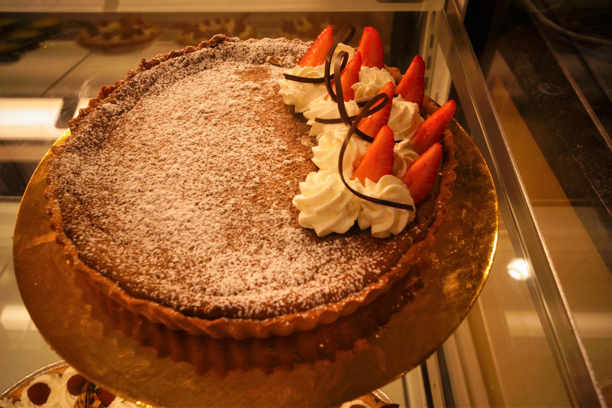 Srawberry Chocolate Pie  by Brian Hannah