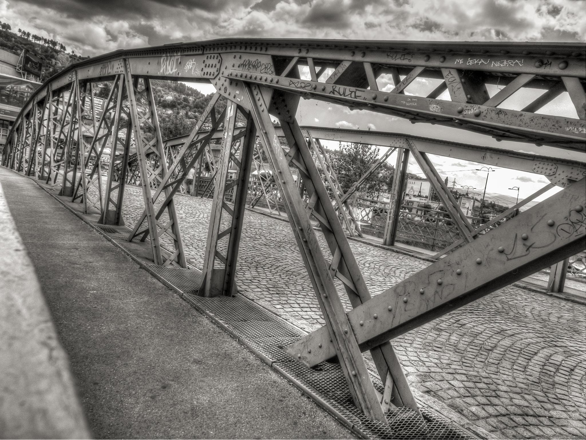 Eiffel bridge in Sarajevo by Christian Kerkmann Photography