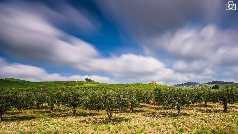 Sicilian land by Fabio Porcelli