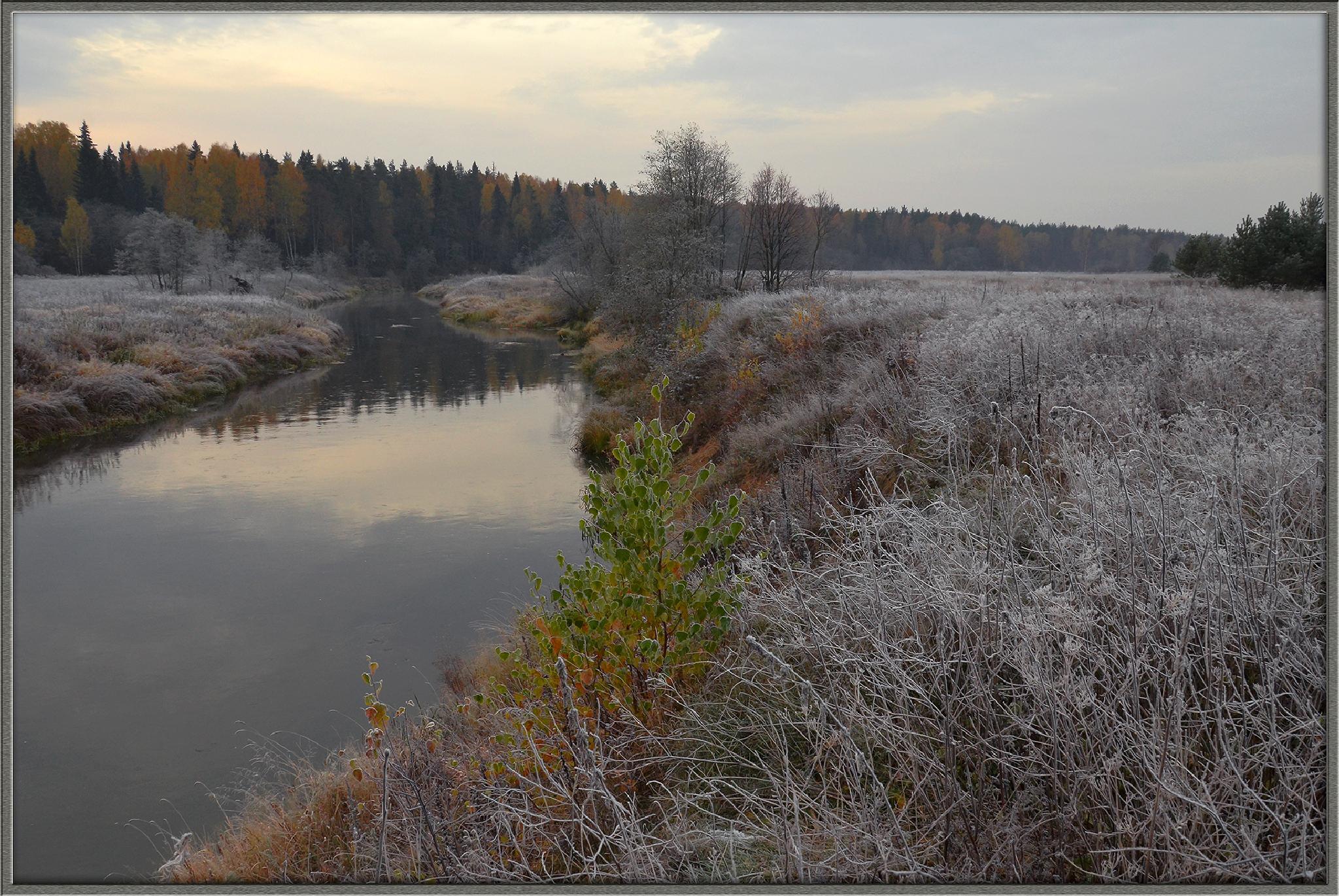 Река Нерль в Октябре by andrey.moseichuk