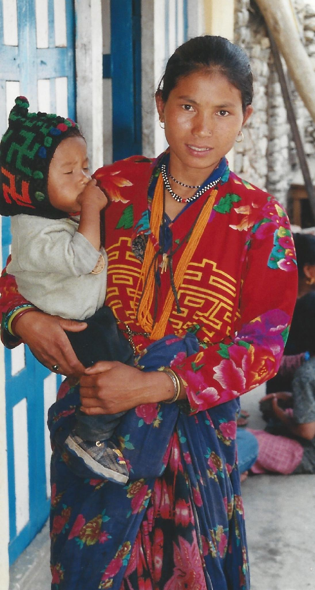 Young Nepali Mother by Scott F. Brooks