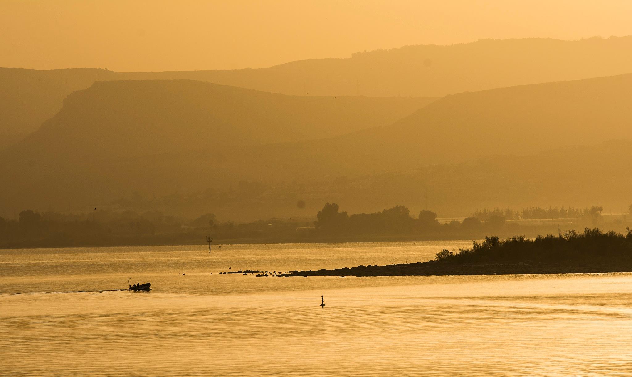 Sea of Galilee by oriel beery