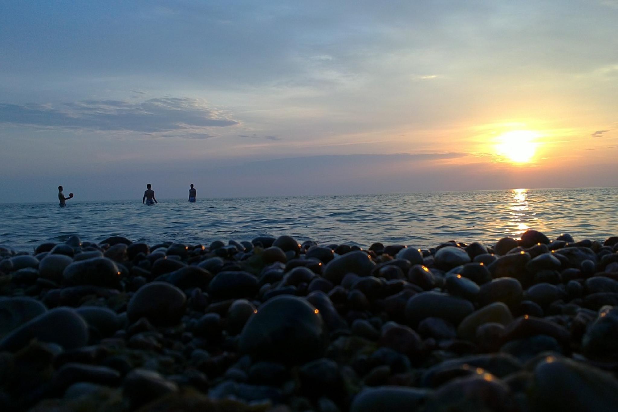 -sunset/baltic sea- by rytis.vilnietis
