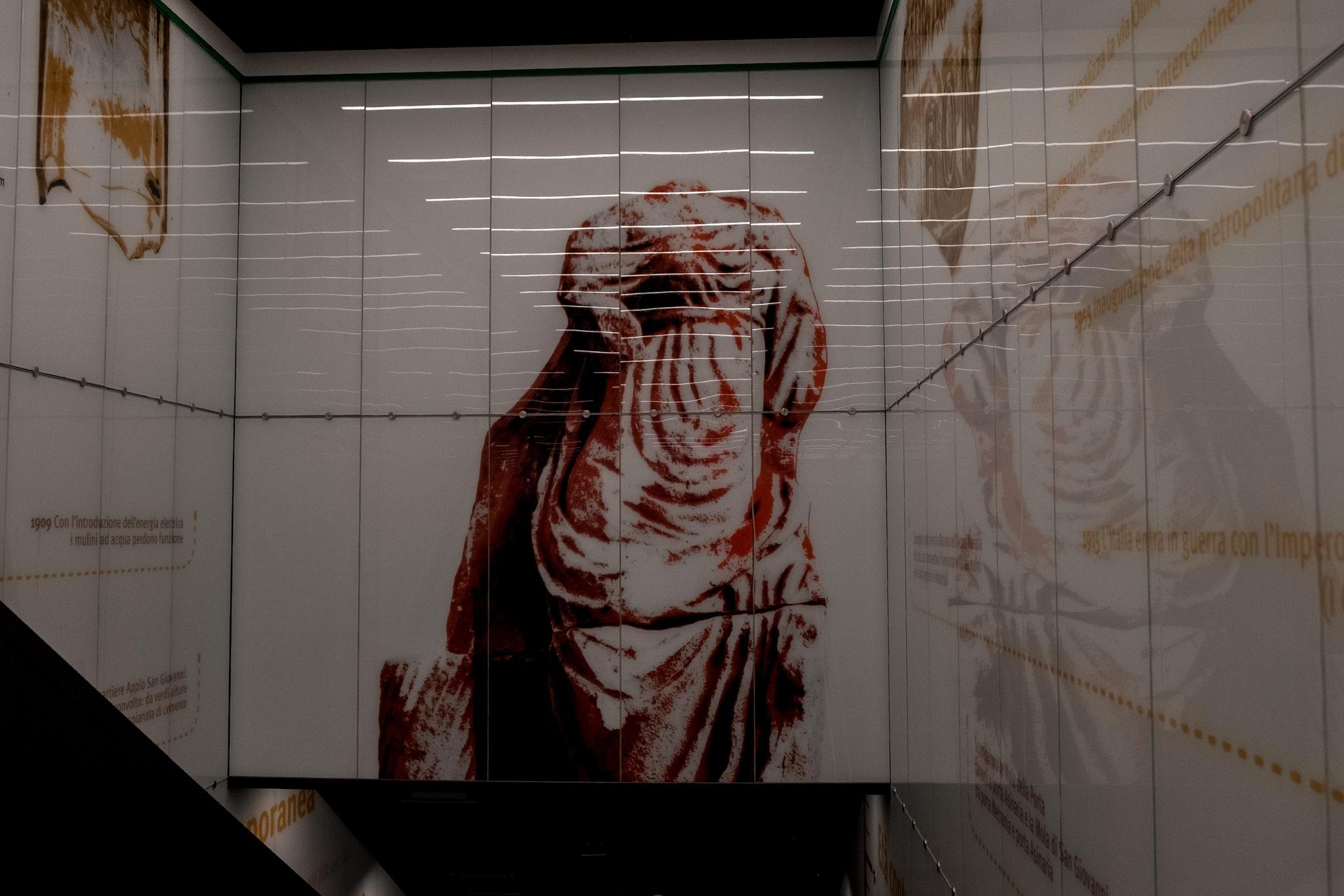 Stazione San Giovanni Metro C by Salvatore Bertolino