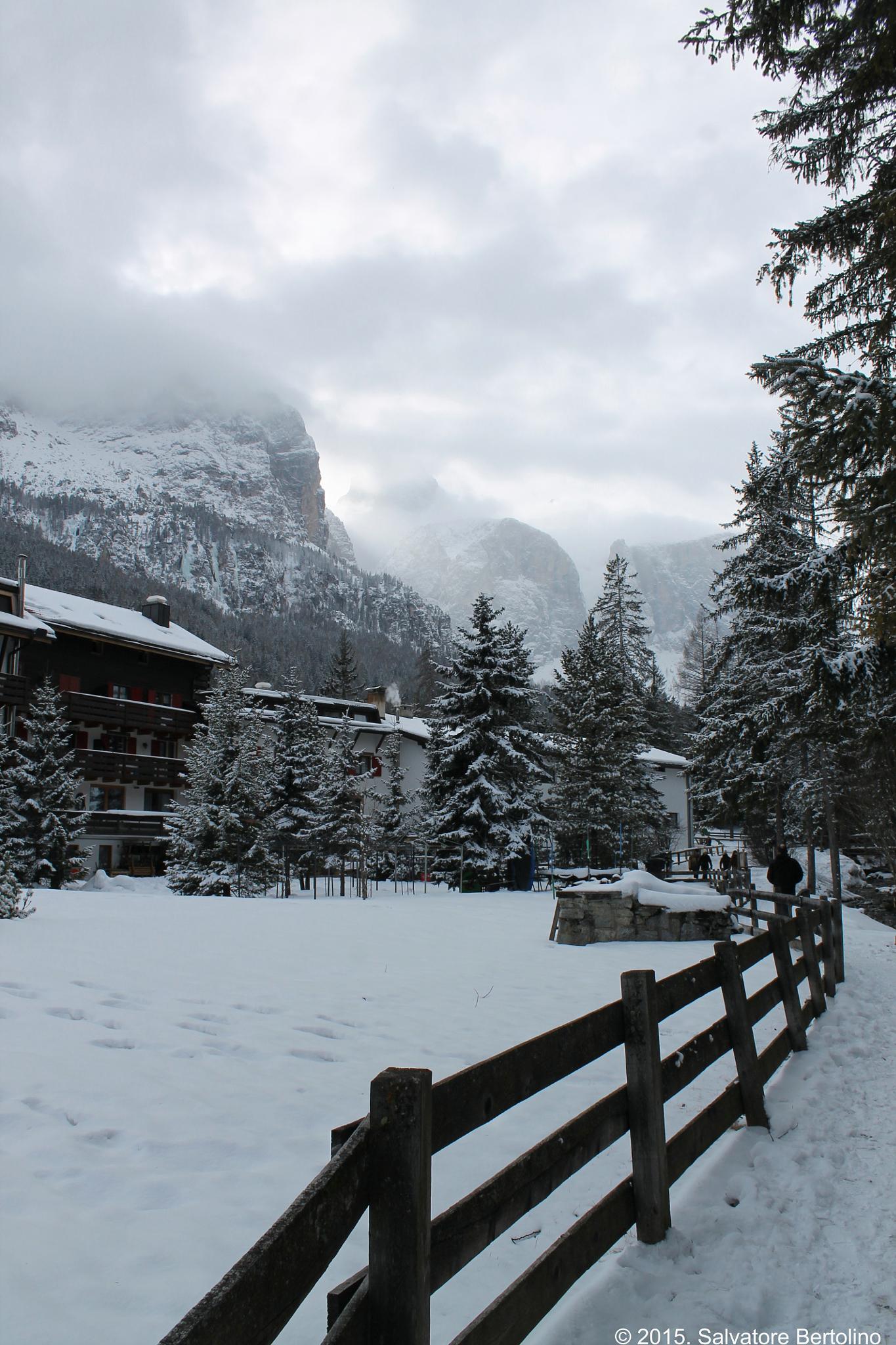 Dolomiti. Nubi sul passo Gardena by Salvatore Bertolino