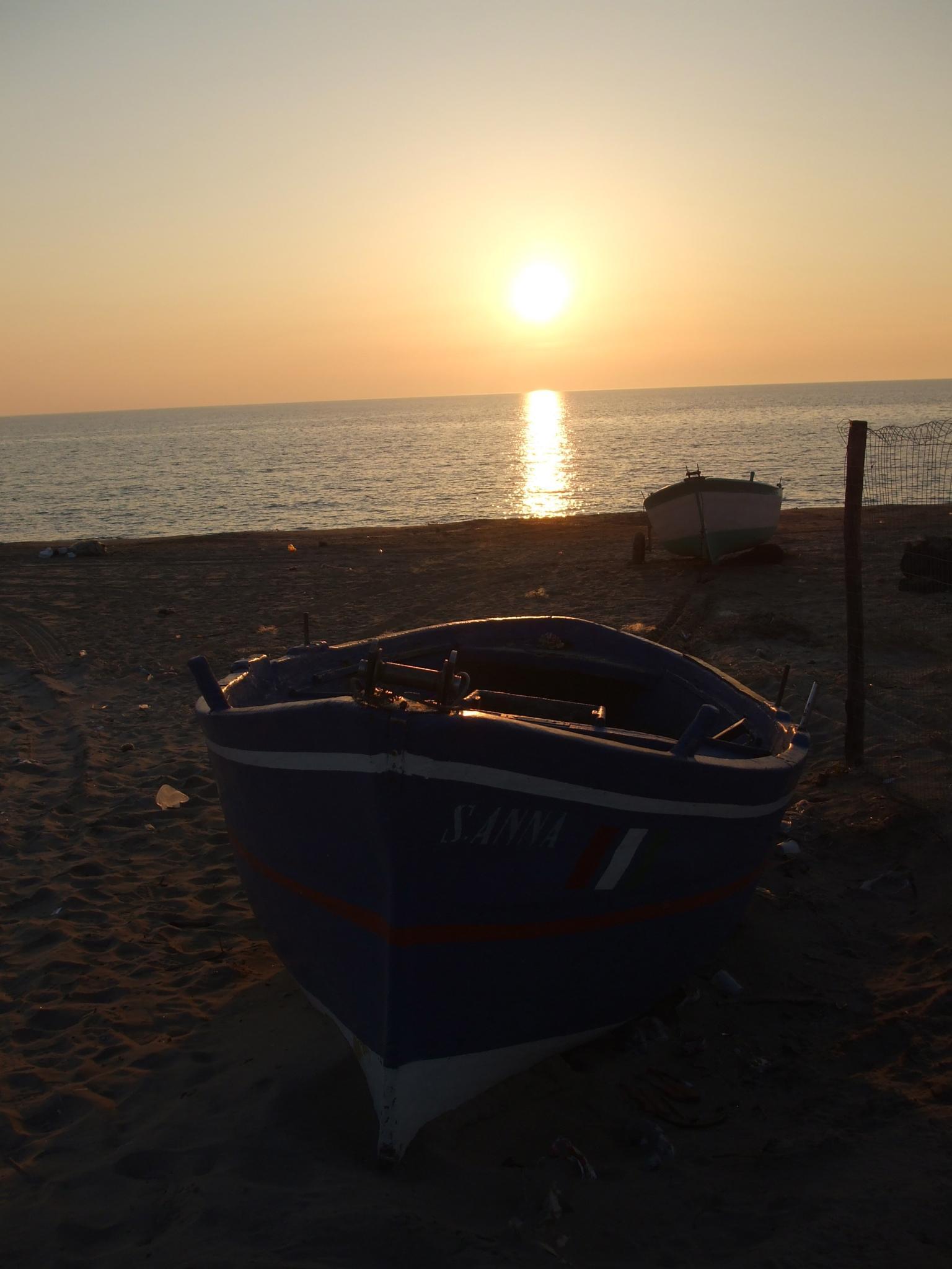 ... al tramonto! by Salvatore Bertolino