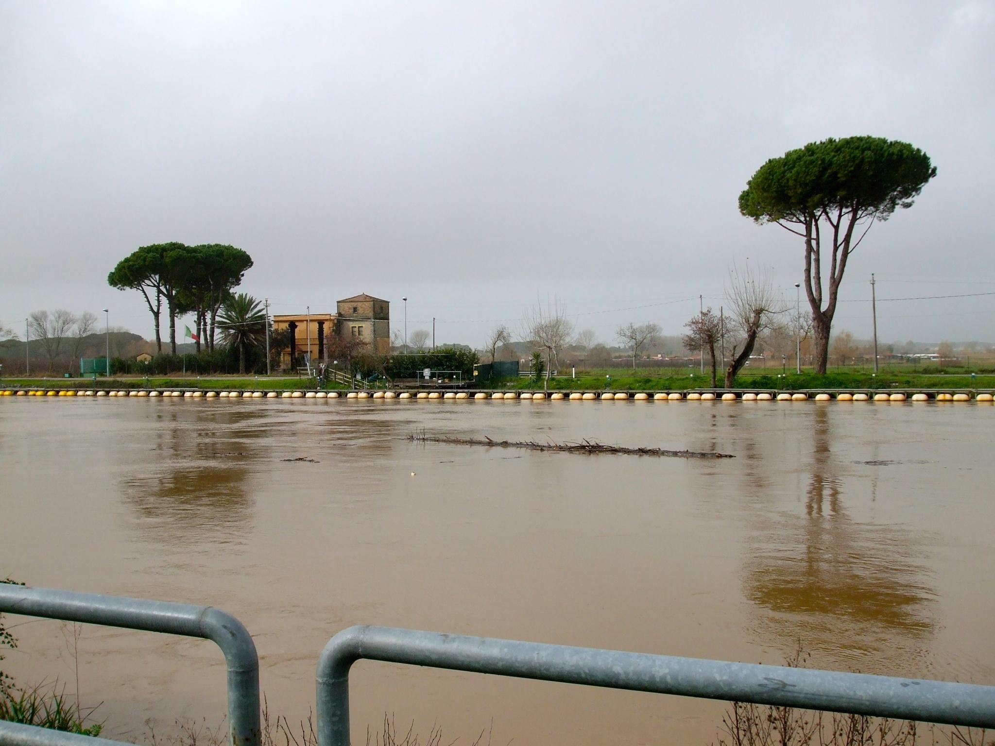 La piena del fiume by Salvatore Bertolino