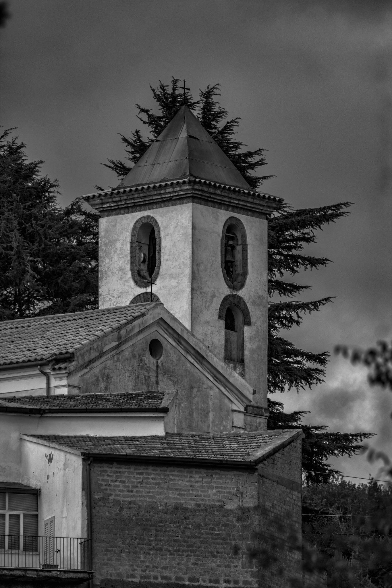 Il campanile di Valogno borgo d'Arte by Salvatore Bertolino
