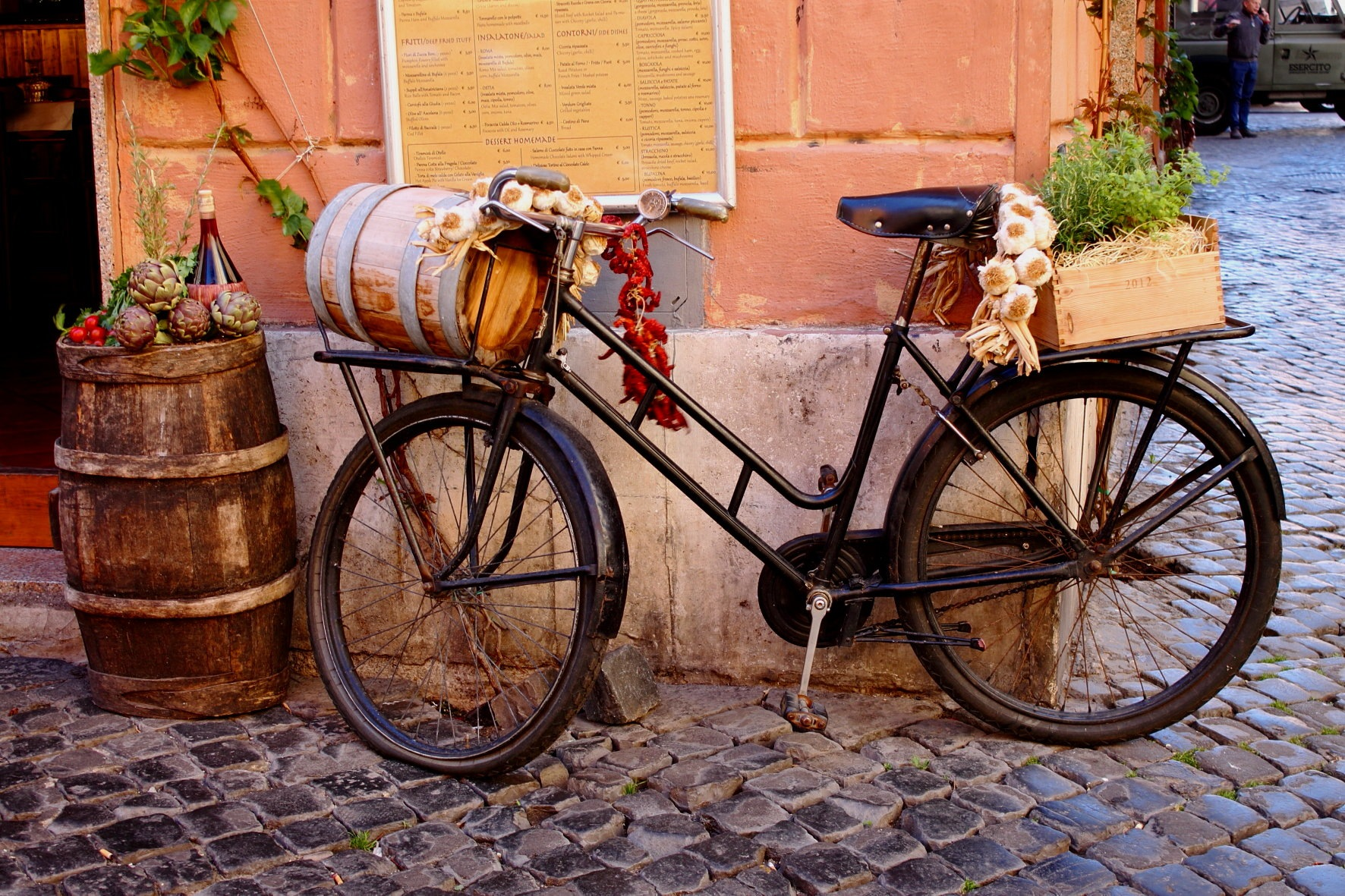 Roma. Trastevere by Salvatore Bertolino
