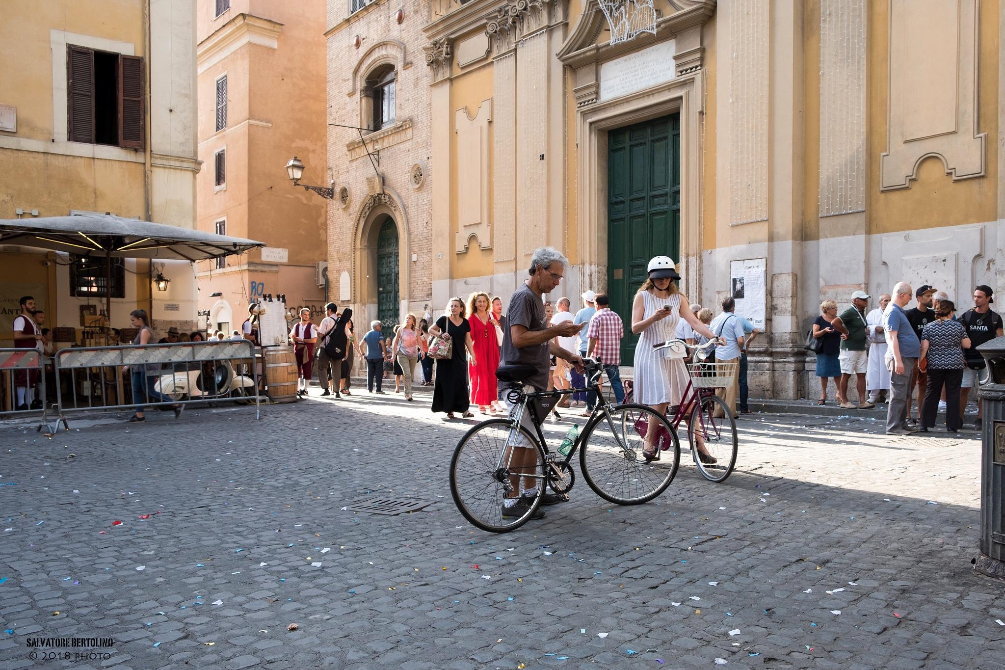 Appuntamento a Trastevere... by Salvatore Bertolino