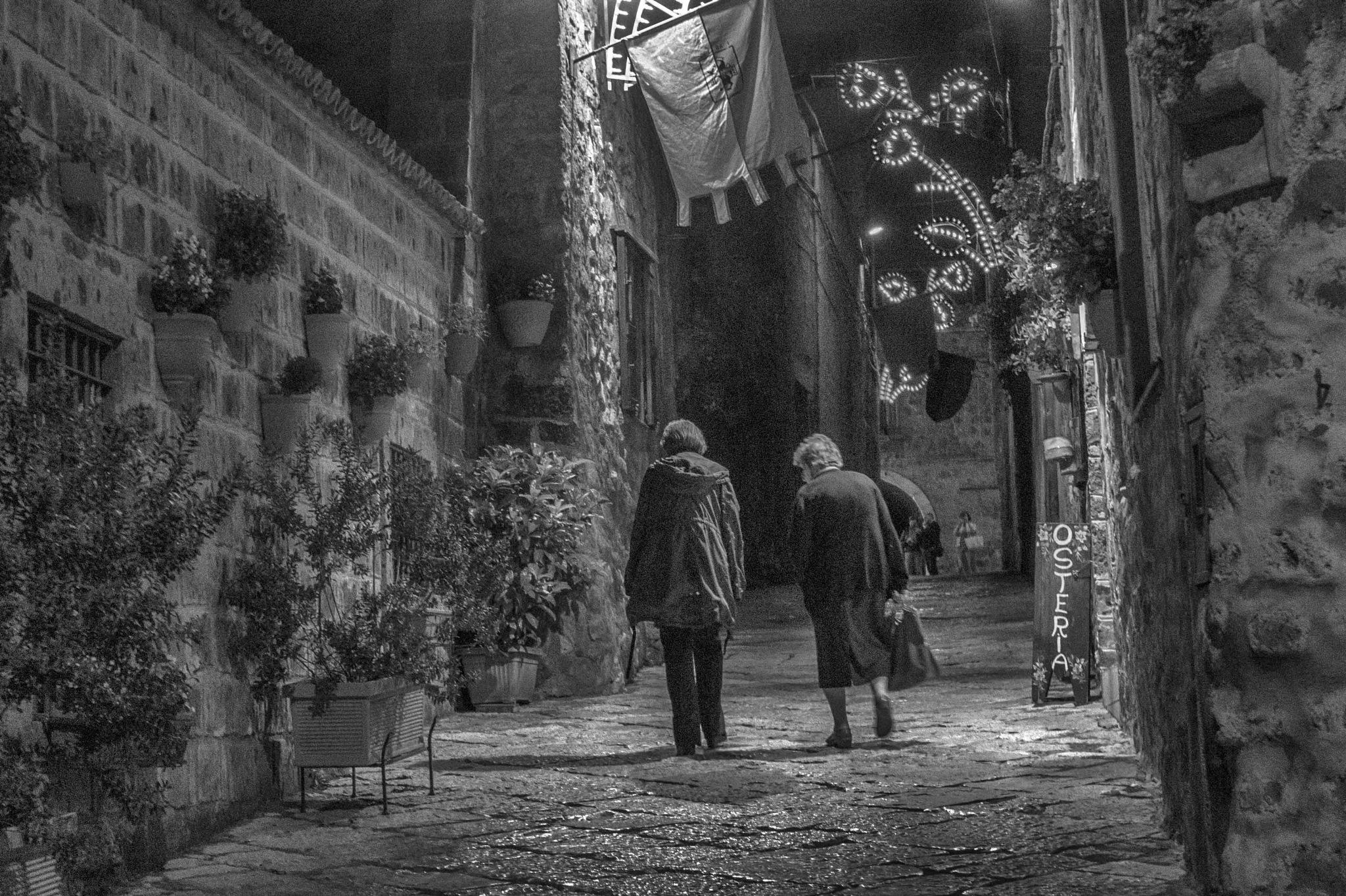 Borgo in festa by Salvatore Bertolino