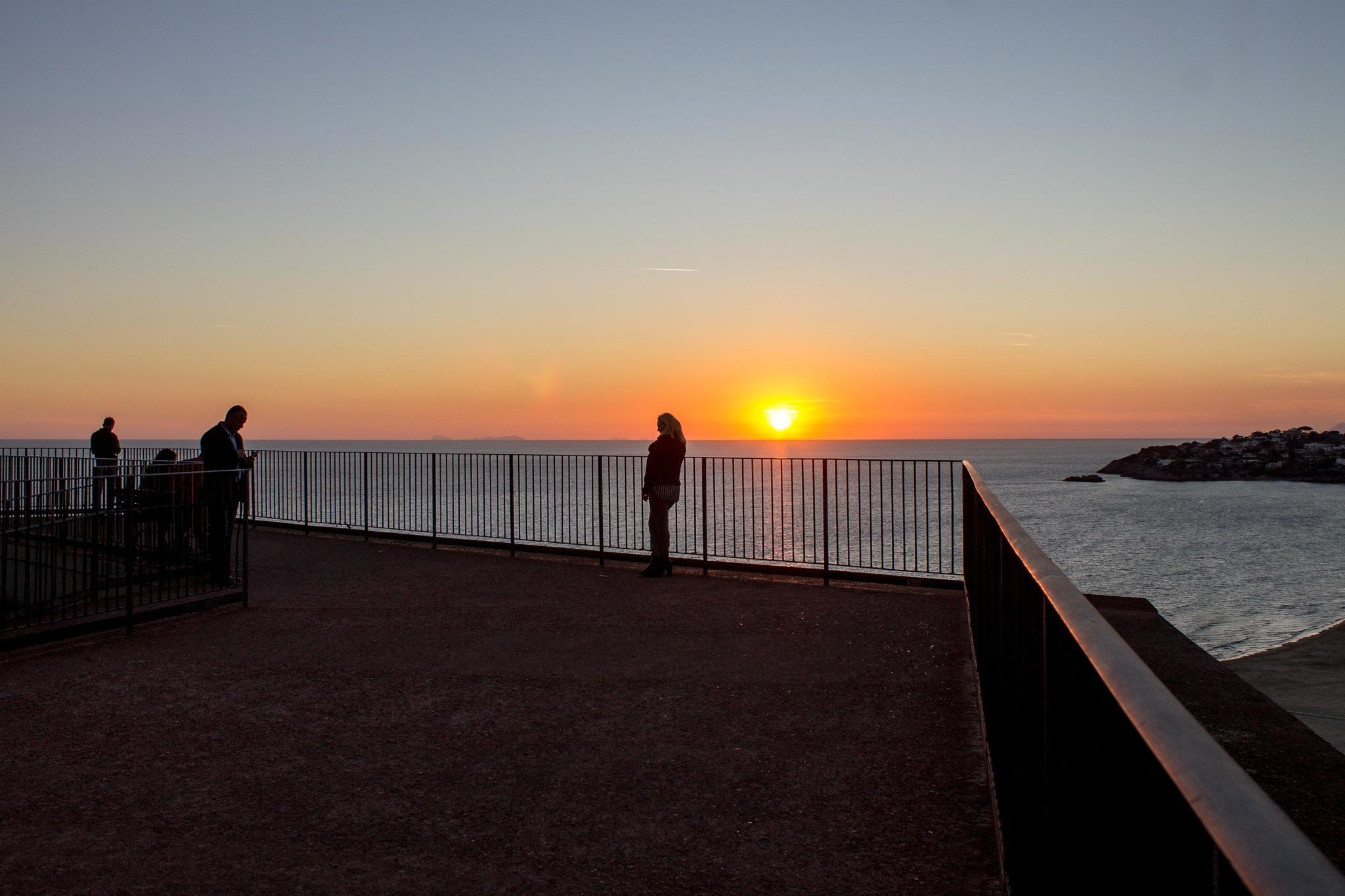 Sunset by Salvatore Bertolino