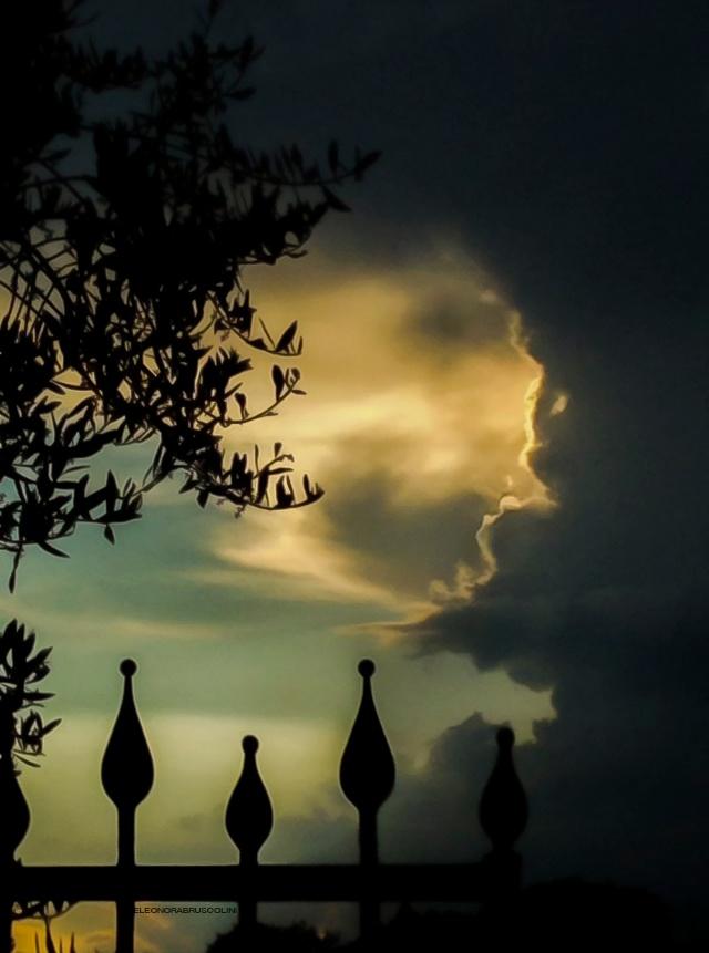 Photo in Landscape #sunset #phone #sun #sky