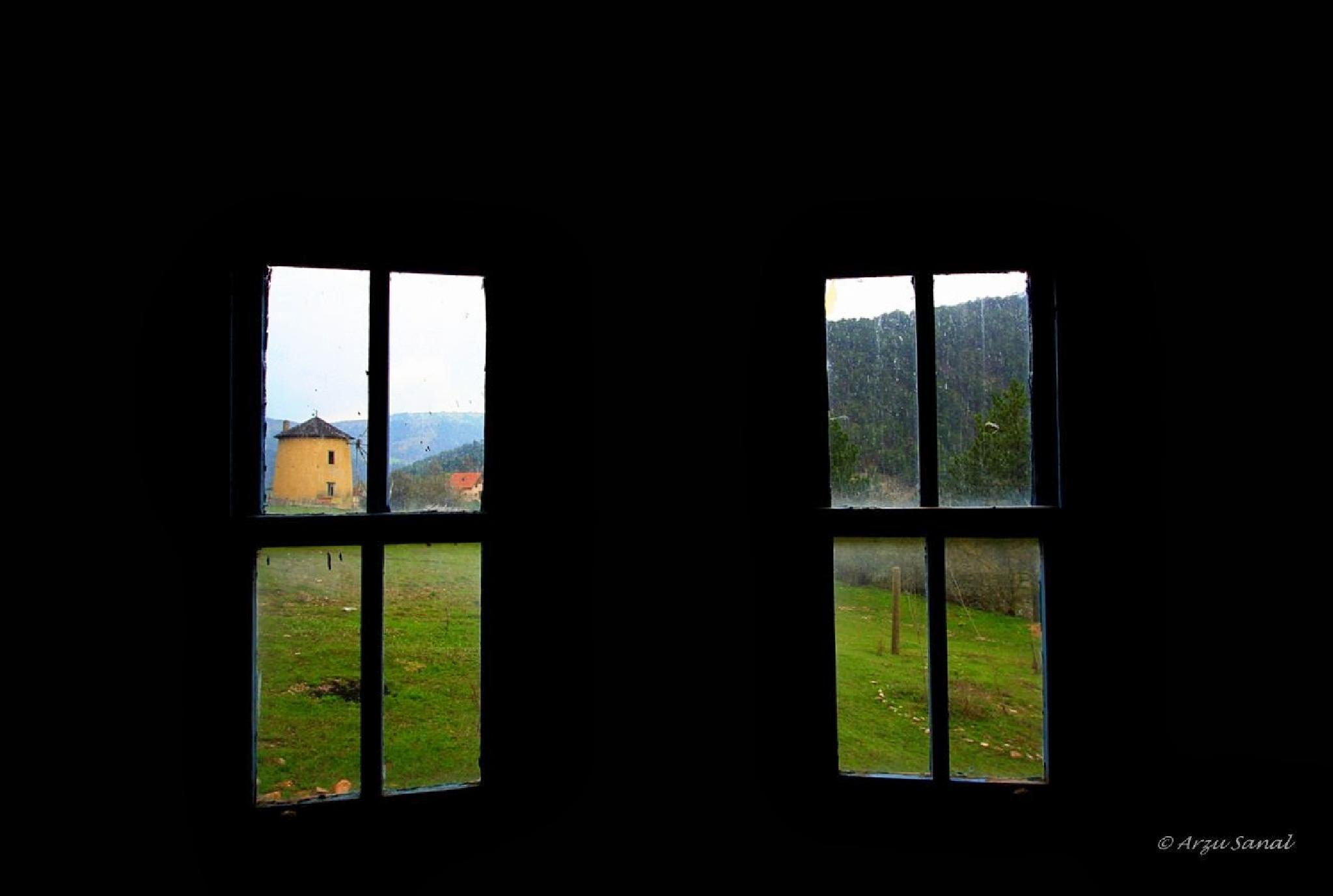 a view from the window ... ... ... by Arzu SANAL