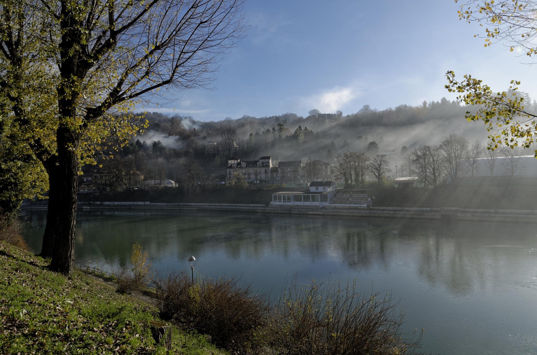 River Po by roncarolo.piero