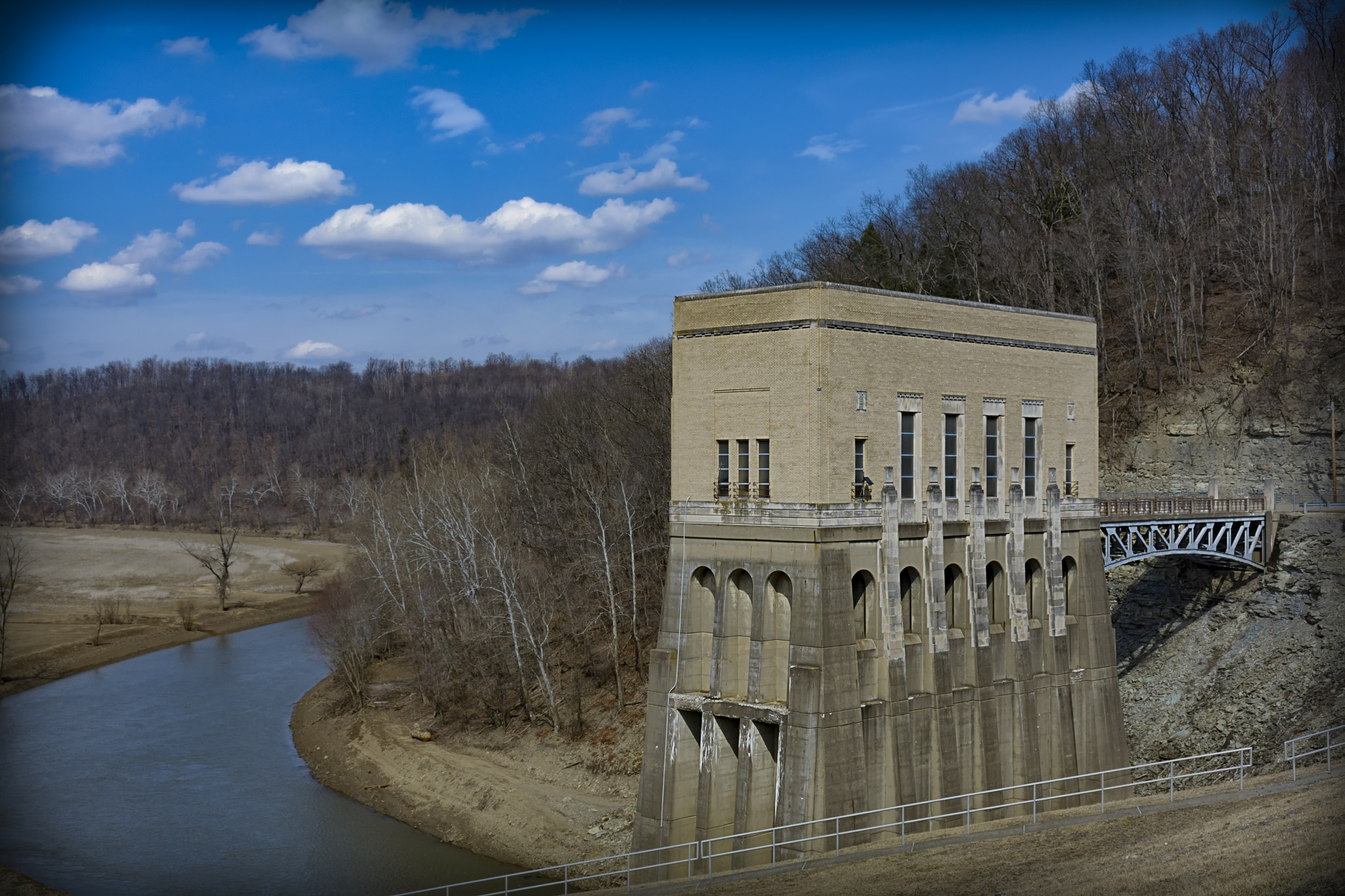 Mohican dam II by JohnBrake