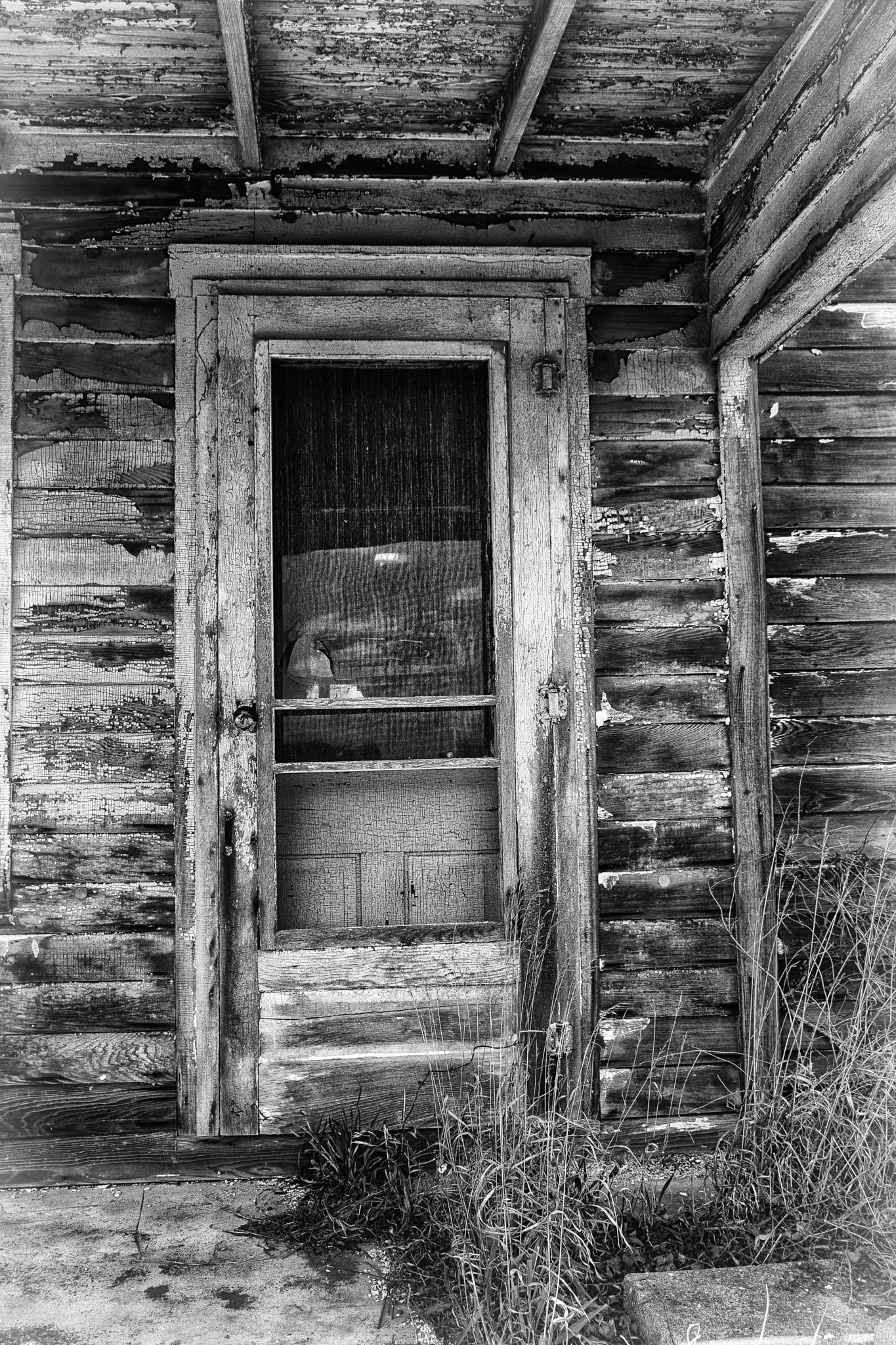 Door on Bell Road by JohnBrake