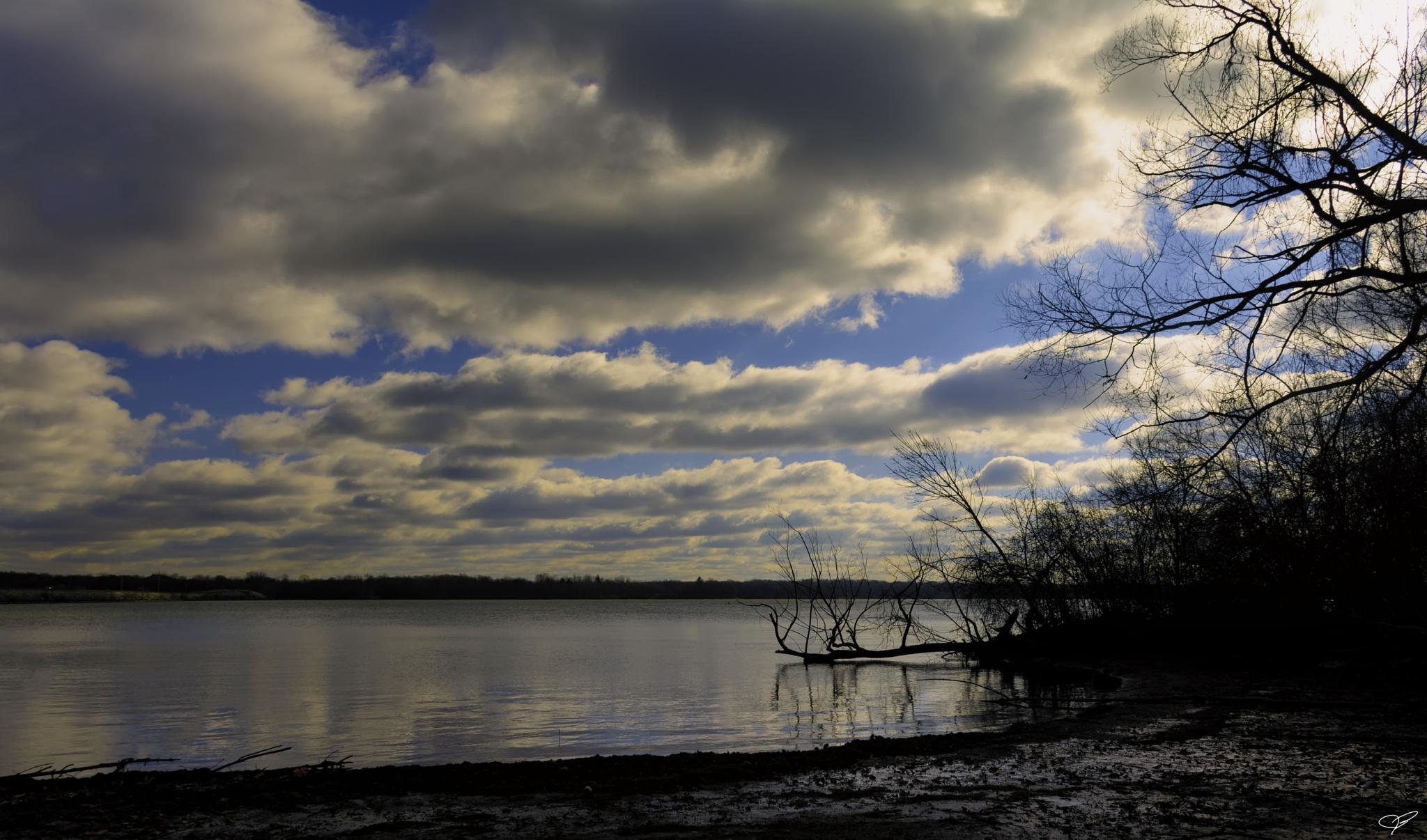 Morning on the lake by JohnBrake
