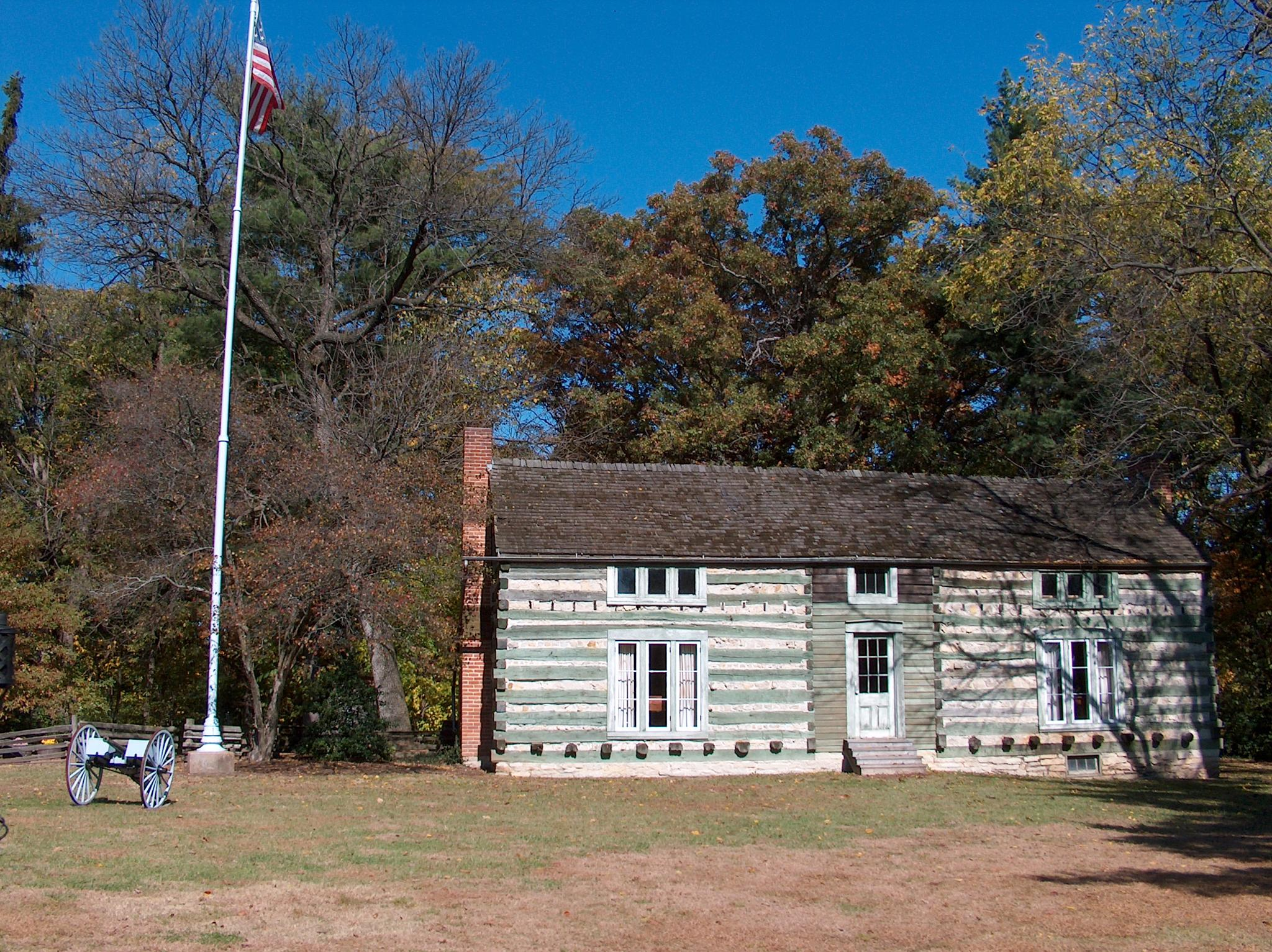 President (General) U.S.Grant's cabin, built it himself by Dave.Wanner.DWP