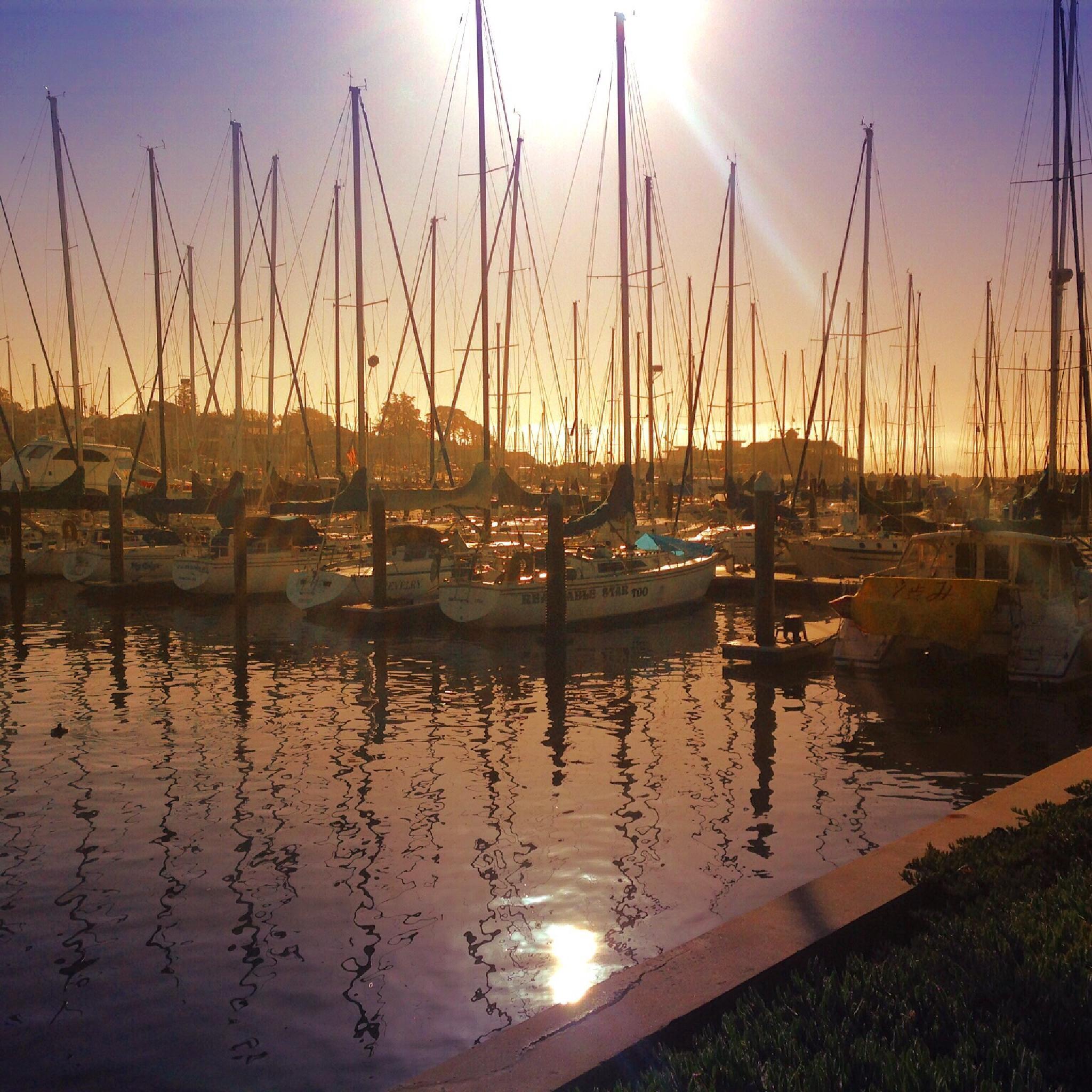 Harbor Sunrise by mvahradian