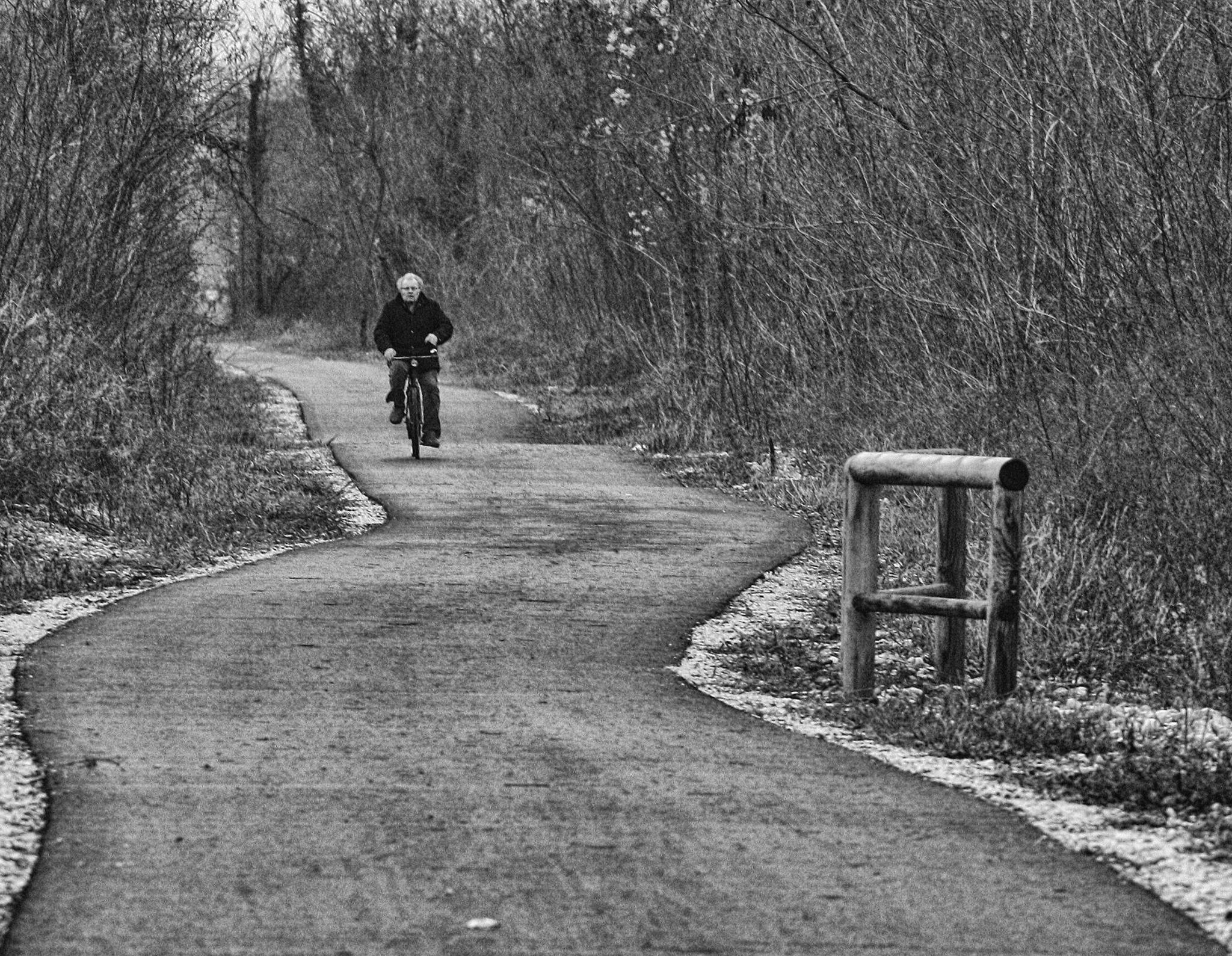 A man along the way by cosandy