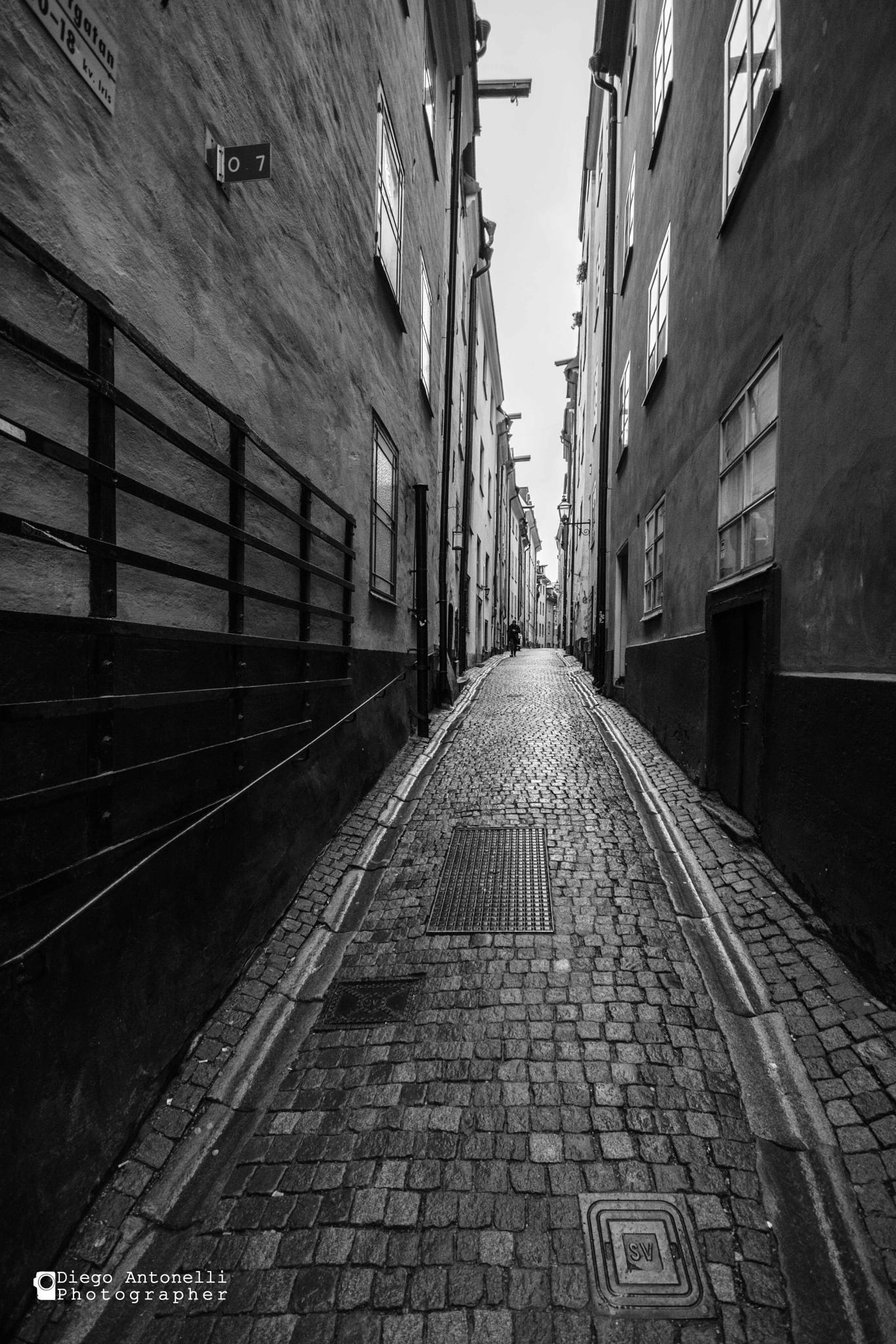 walking. Alone by DiegoPh