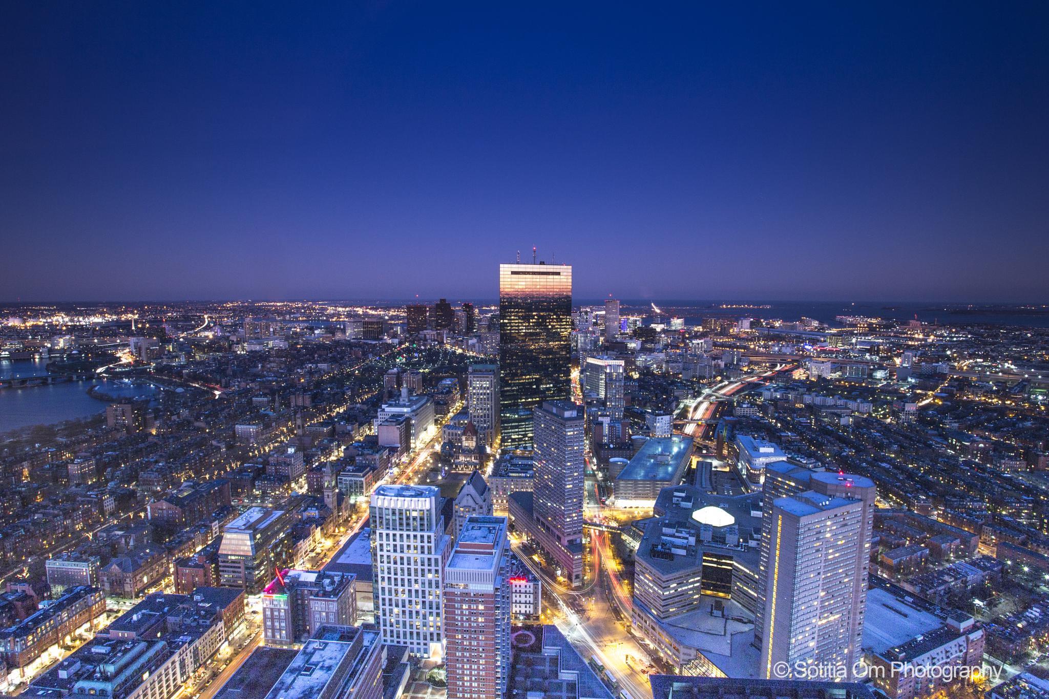 Boston Skywalk by Sotitia Om Photography