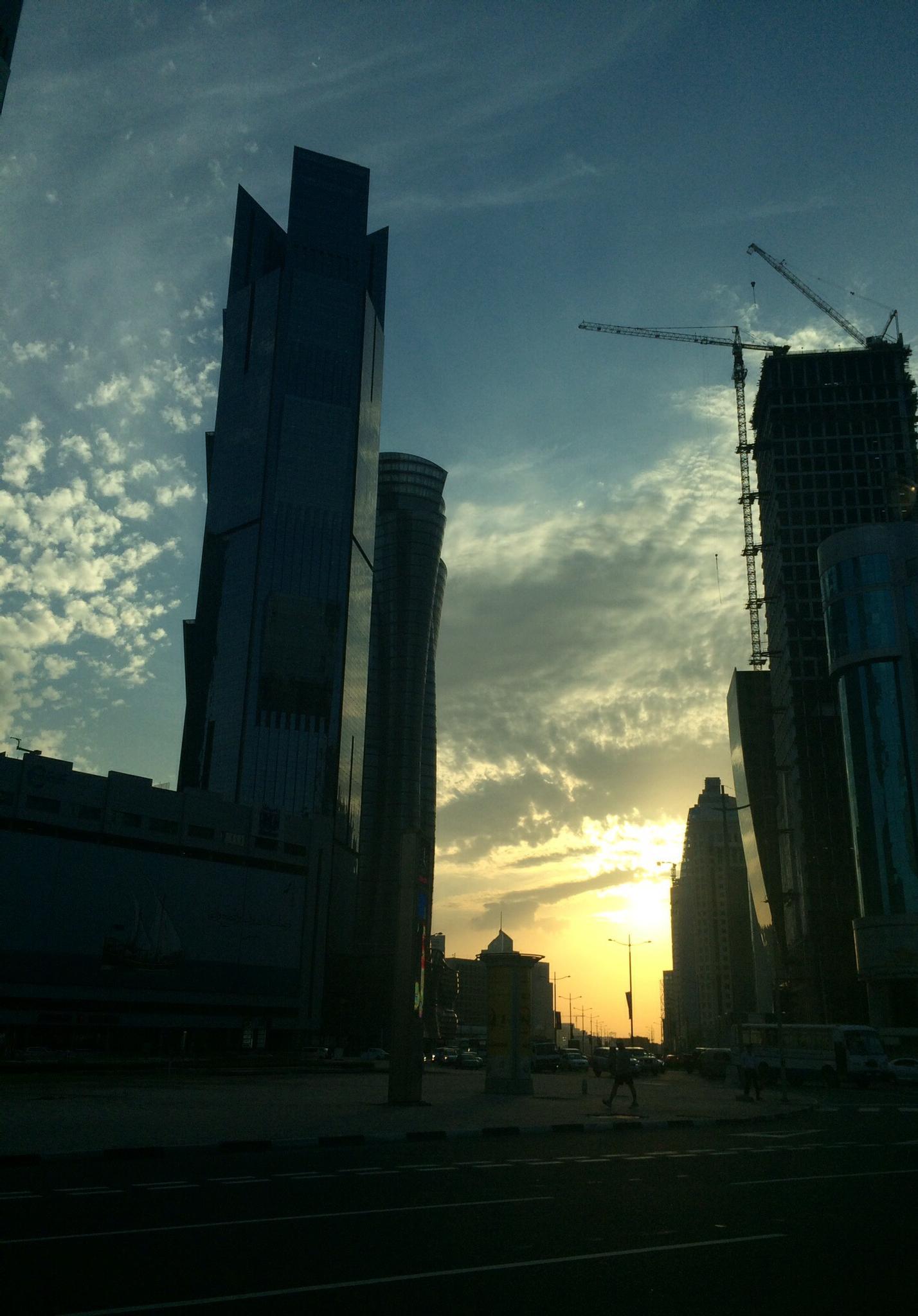 """Sunset in Doha "" by wyler.devotta"