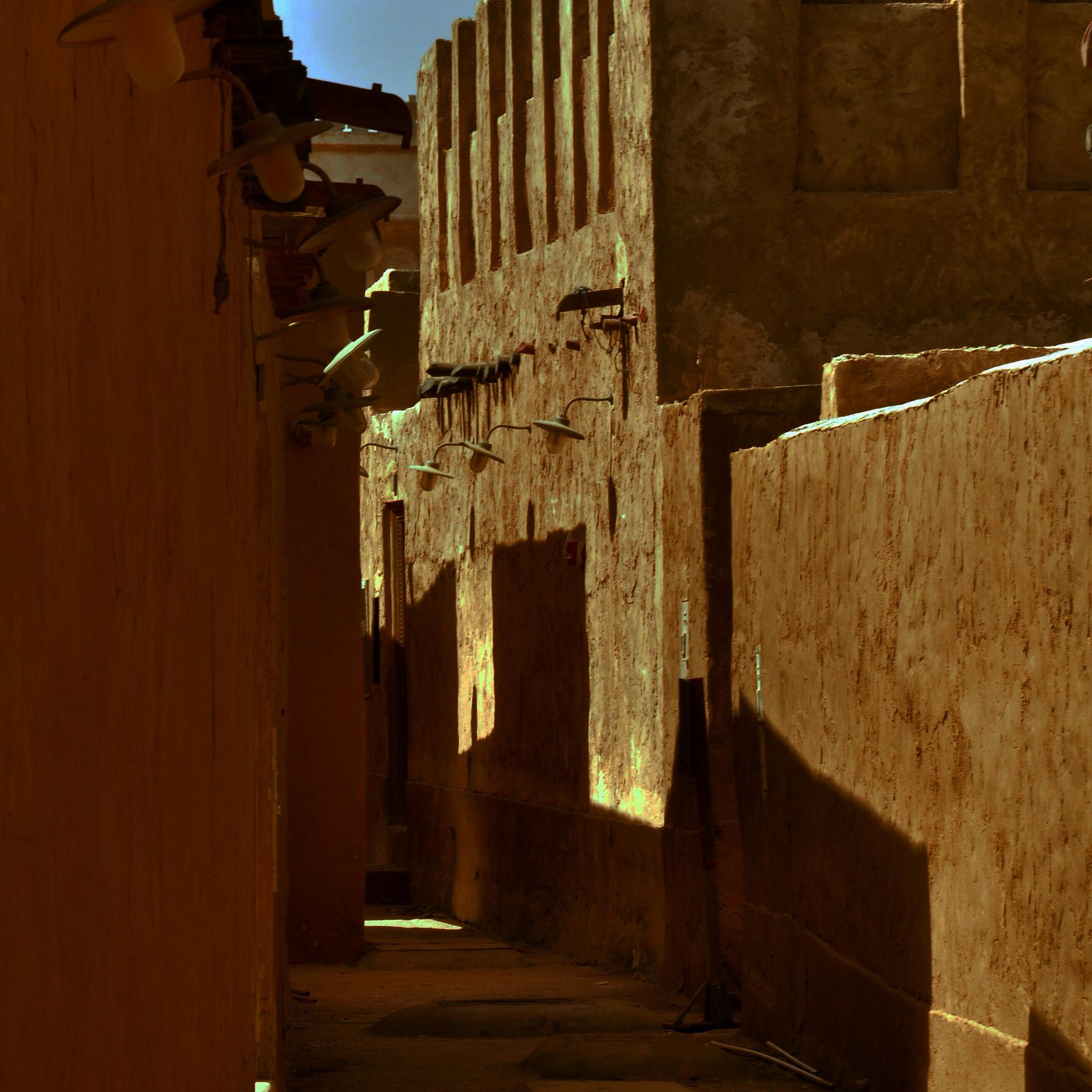 Alley in the afternoon  by wyler.devotta