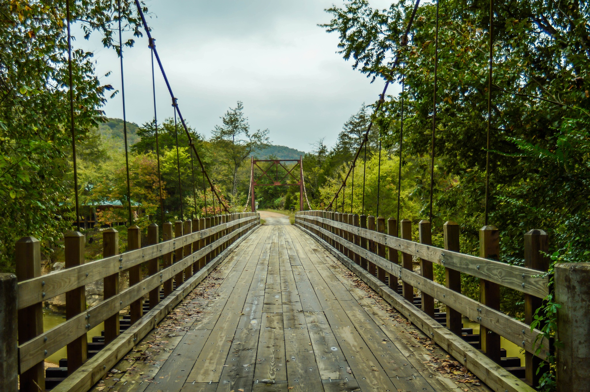 Old swing bridge by MH