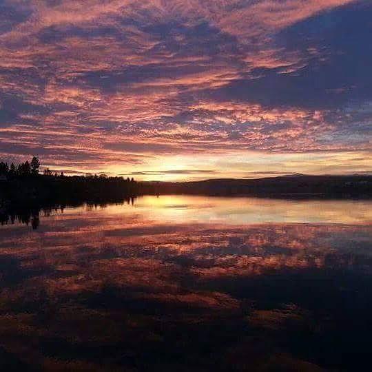 sunset by symonaw