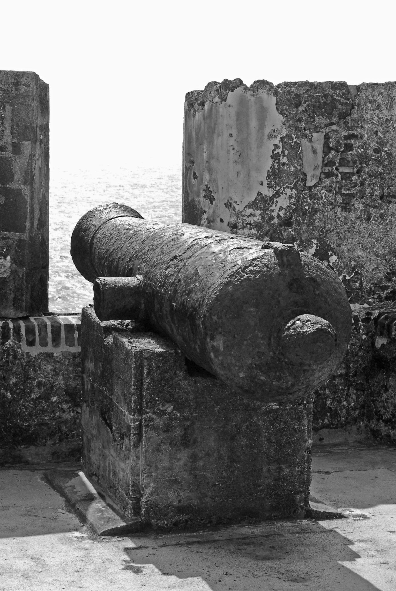 Ancient Cannon by alfredomarinjr