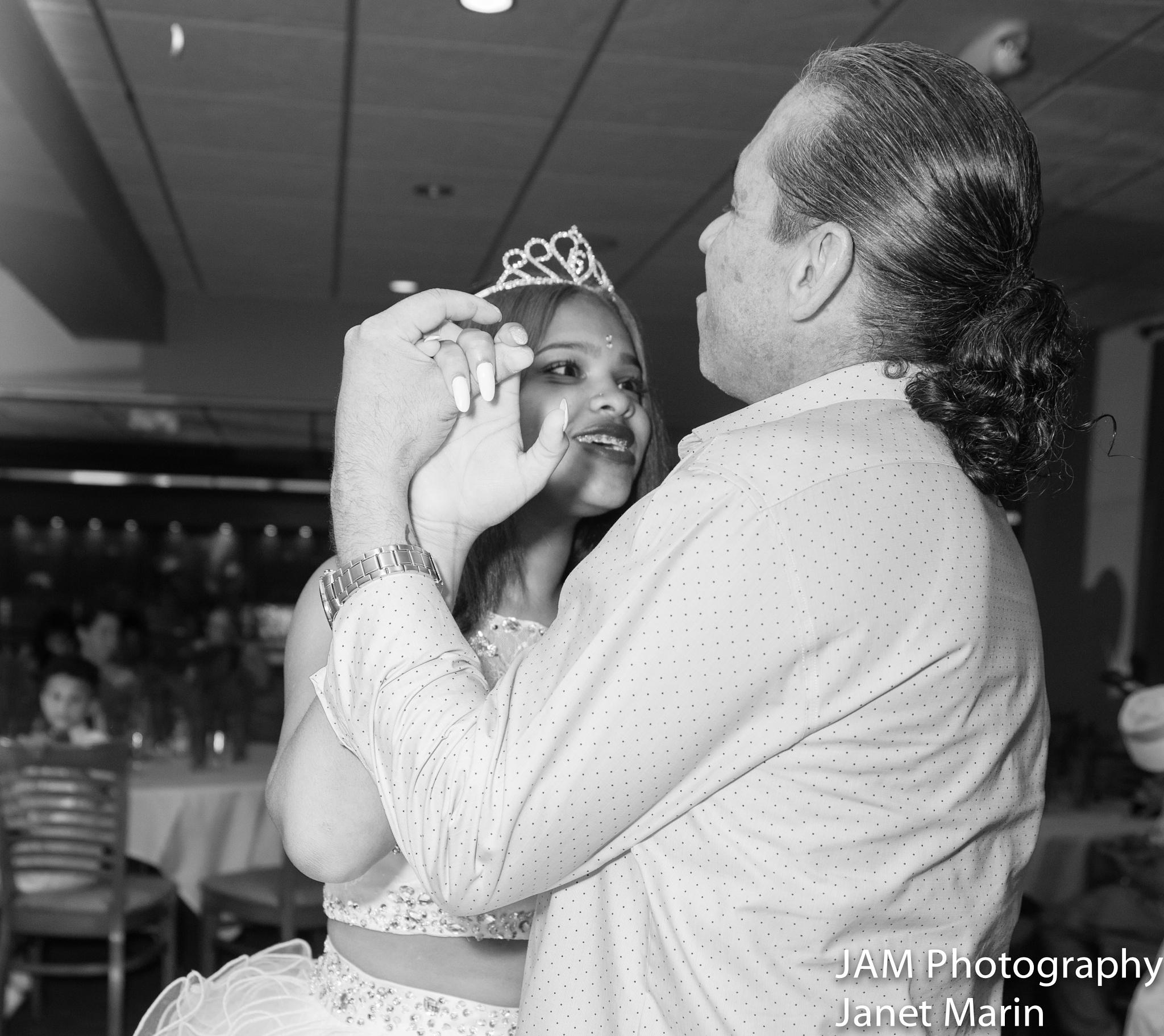 1st Dance w/grandpapa by Janet Marin